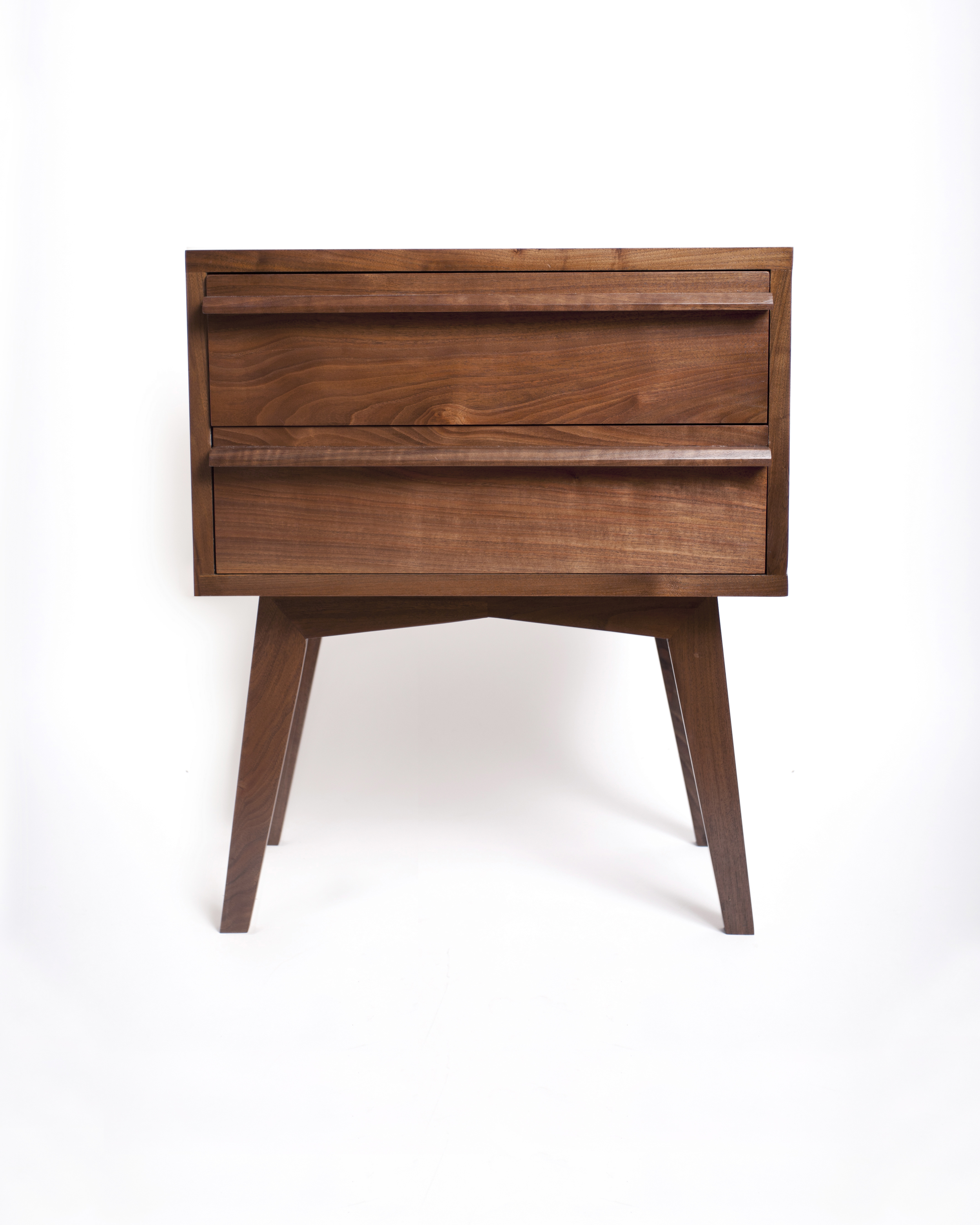 Picture of: Modern Walnut Nightstand Oh Dier