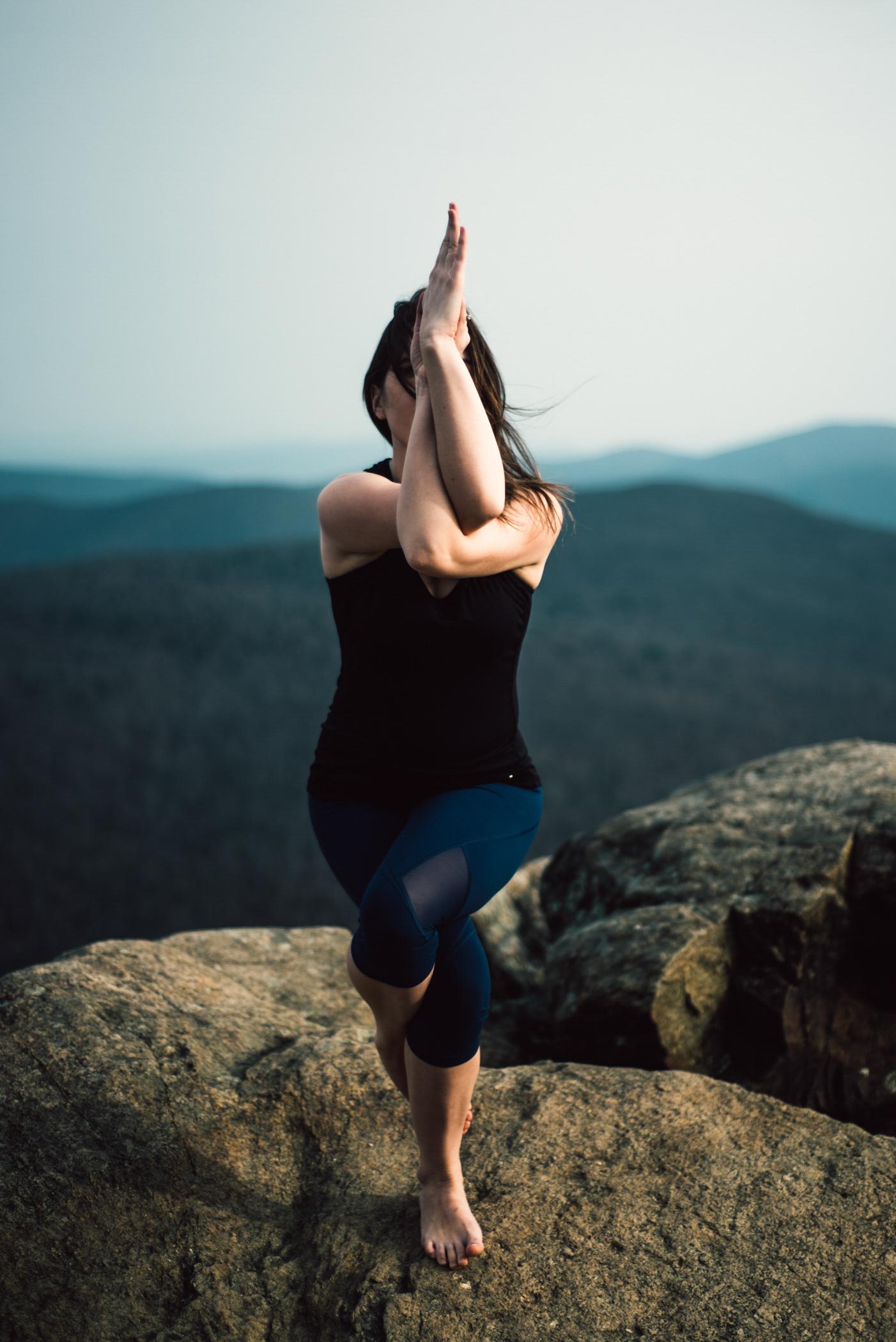 Yoga Mountain Top Yoga Portraits at Shenandoah National Park_1.JPG