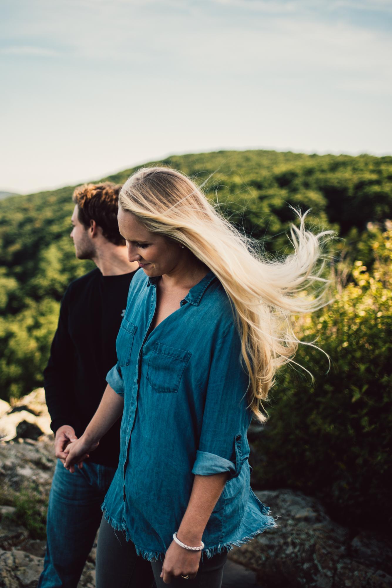 Jp and Kelsey - Shenandoah National Park - Couple Portraits - Adventure Session_27.JPG