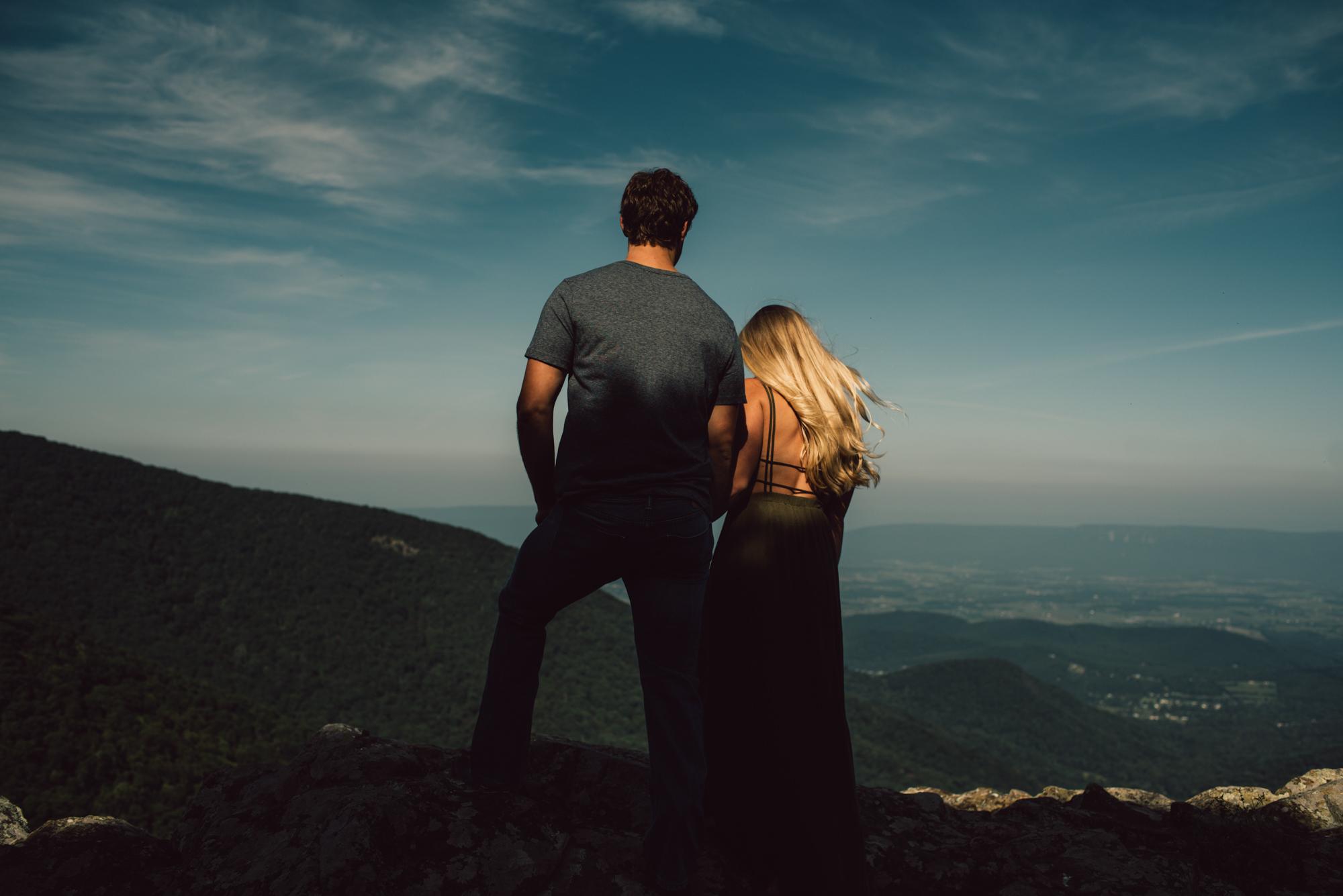 Jp and Kelsey - Shenandoah National Park - Couple Portraits - Adventure Session_47.JPG