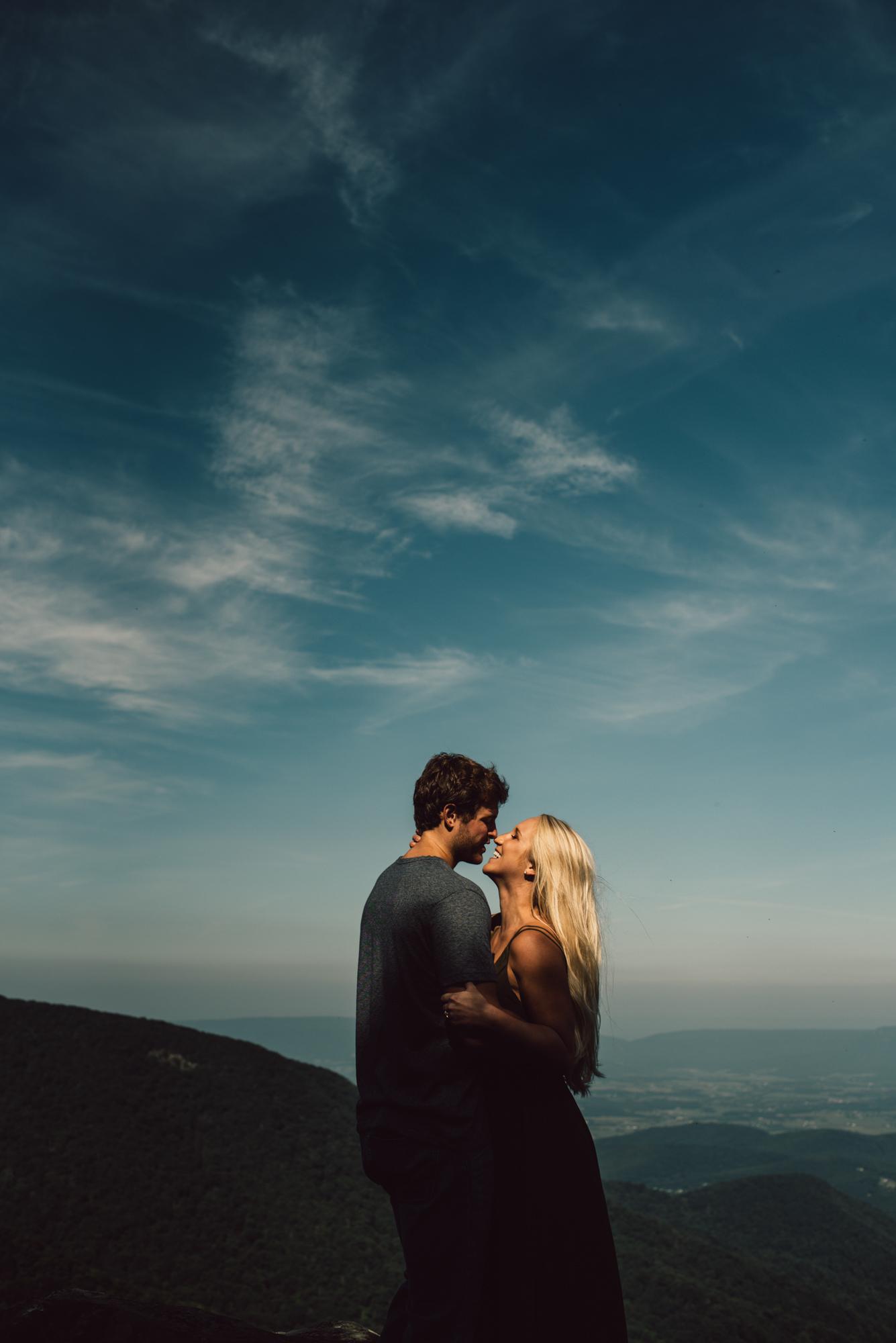 Jp and Kelsey - Shenandoah National Park - Couple Portraits - Adventure Session_53.JPG