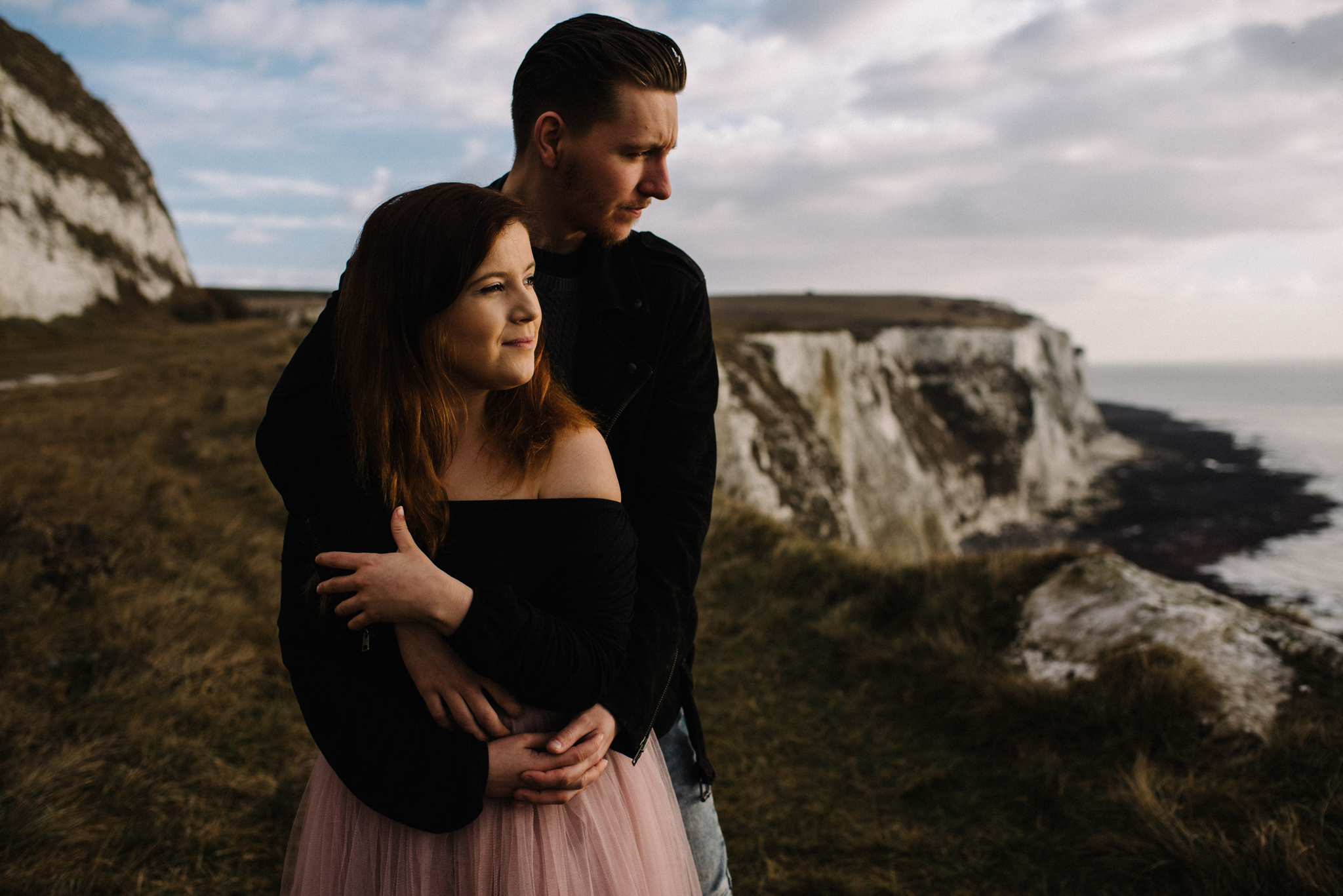 Jade and Dean White Cliffs of Dover Couple Session_6.JPG
