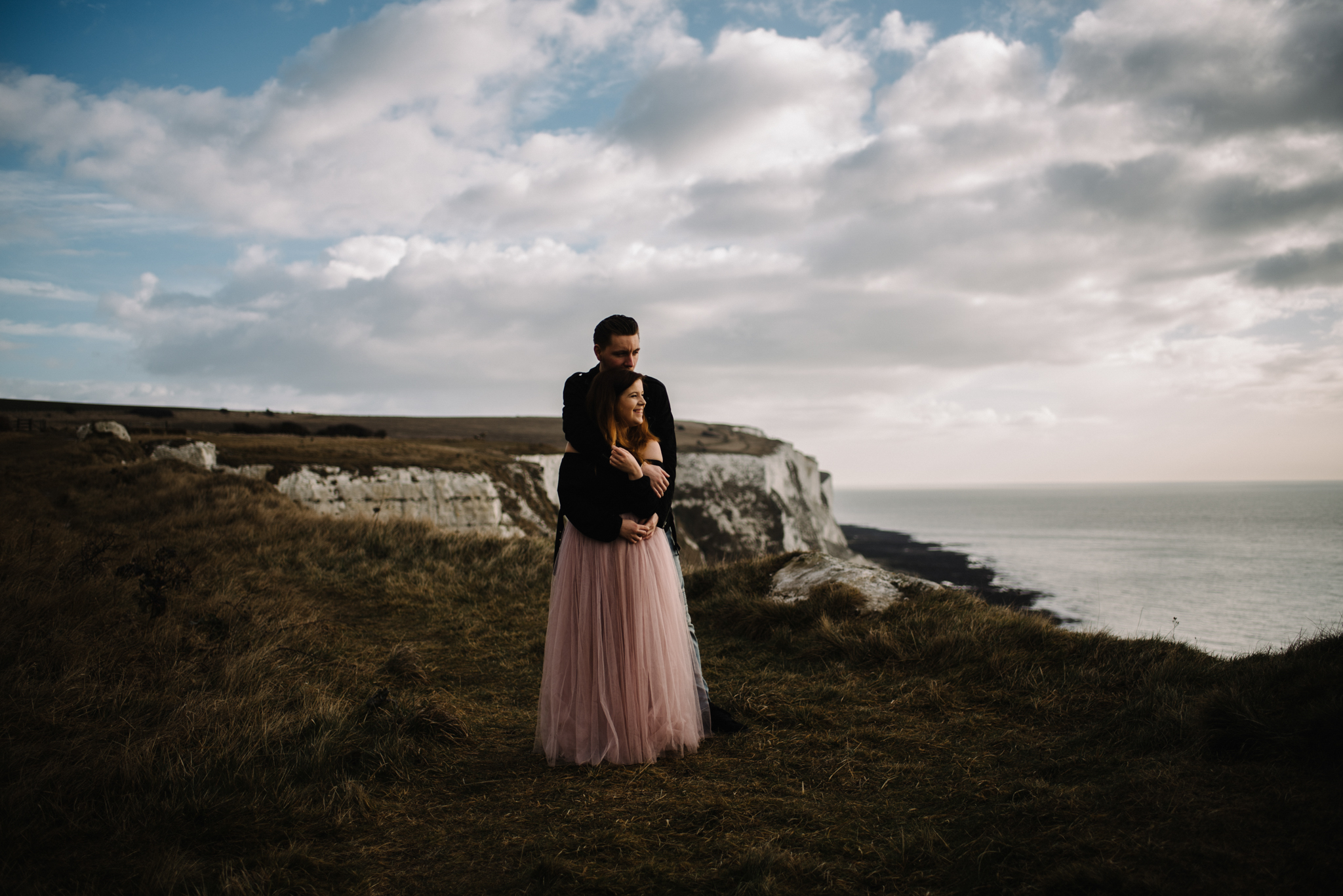 Jade and Dean White Cliffs of Dover Couple Session_7.JPG