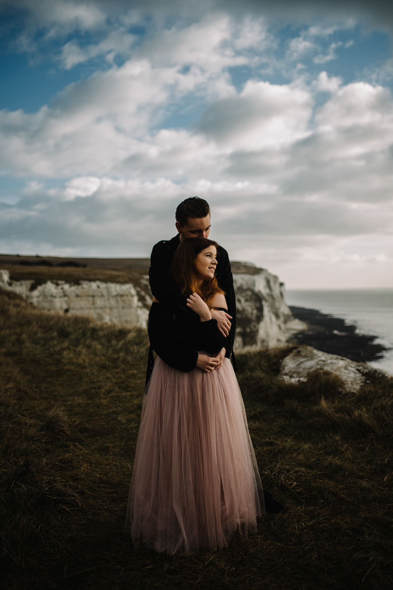 Jade and Dean White Cliffs of Dover Couple Session_8.JPG