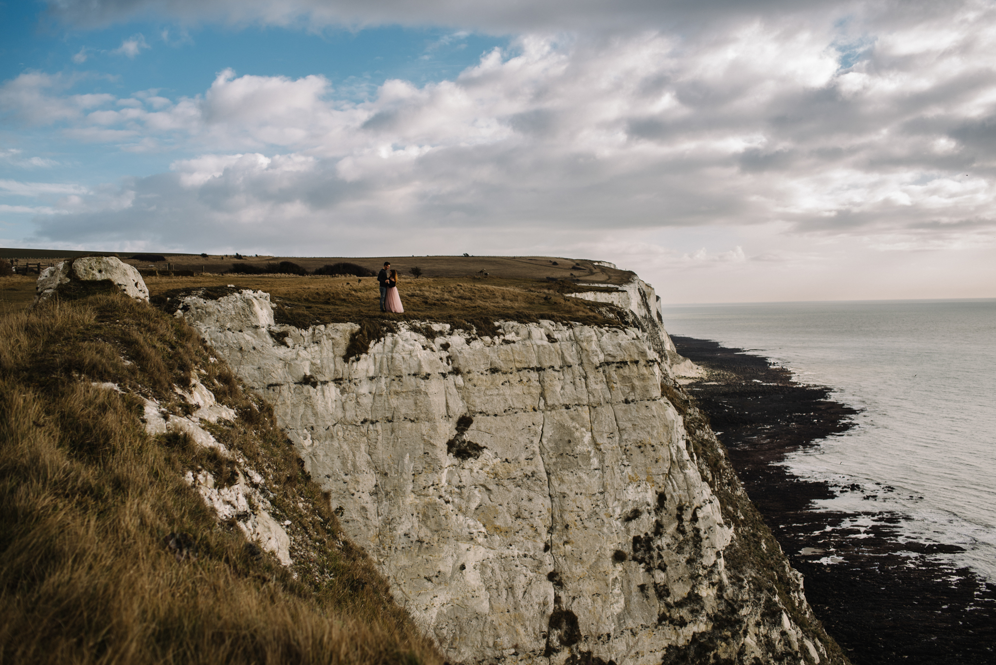Jade and Dean White Cliffs of Dover Couple Session_9.JPG