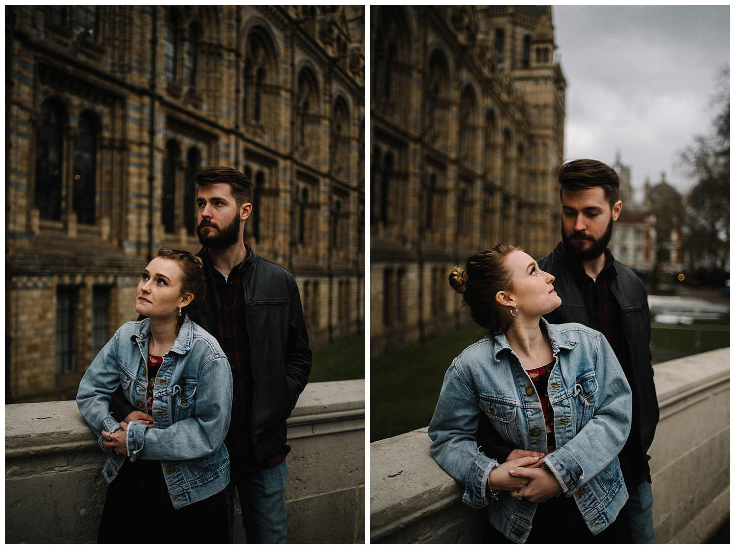 Grace and Jack London Natural History Museum Couple Portrait Session England_19.jpg