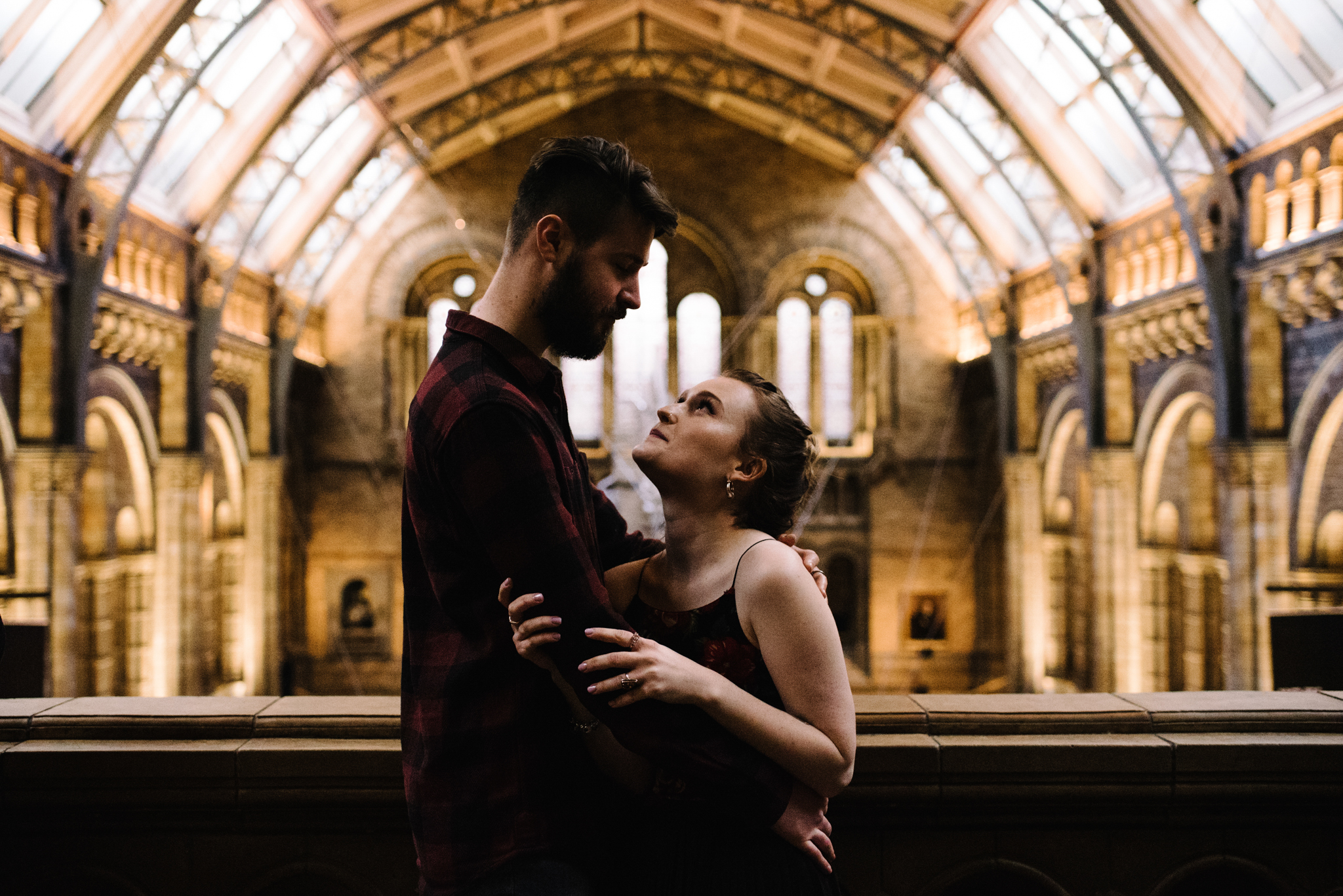 Grace and Jack London Natural History Museum Couple Portrait Session England_32.JPG