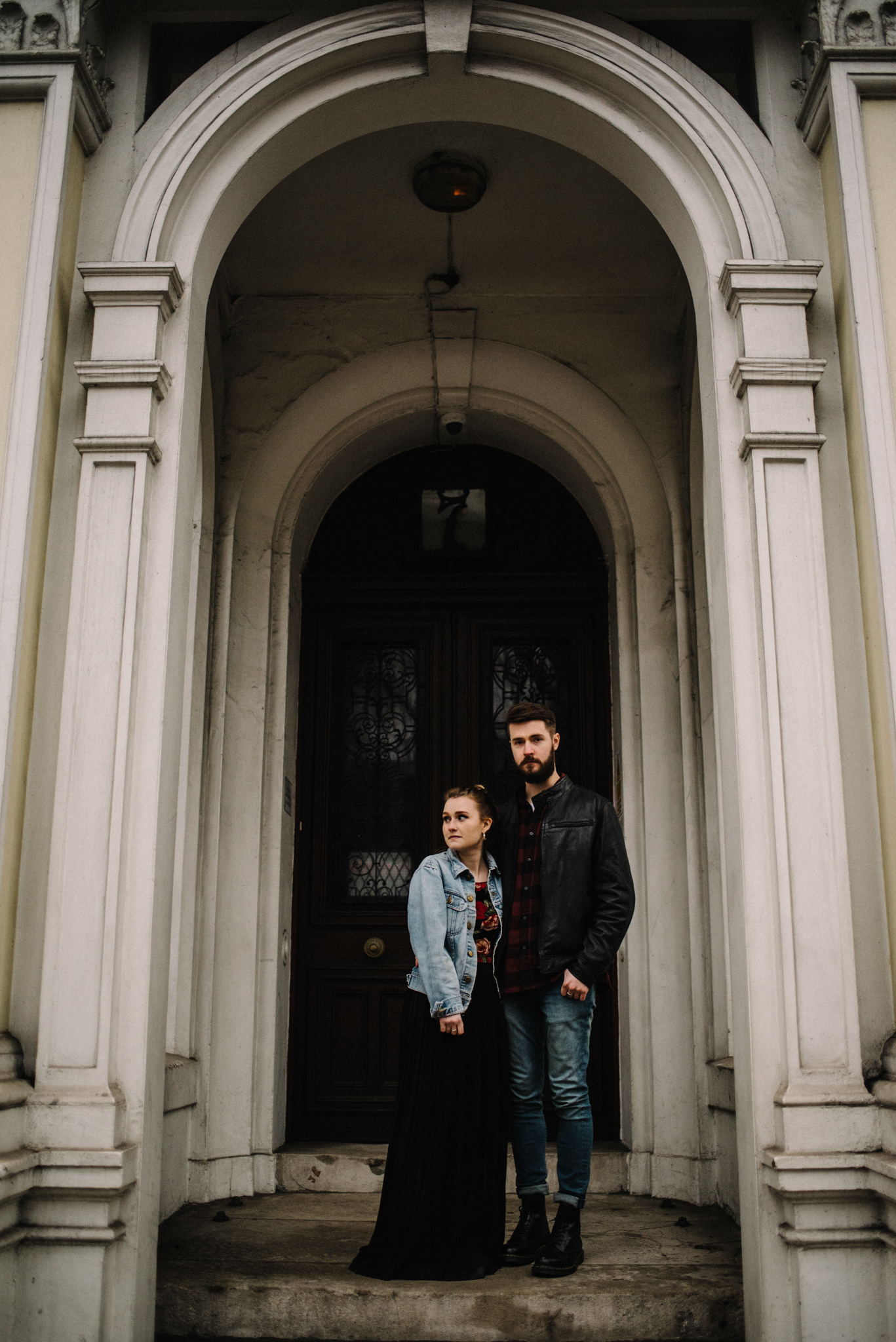 Grace and Jack London Natural History Museum Couple Portrait Session England_40.JPG