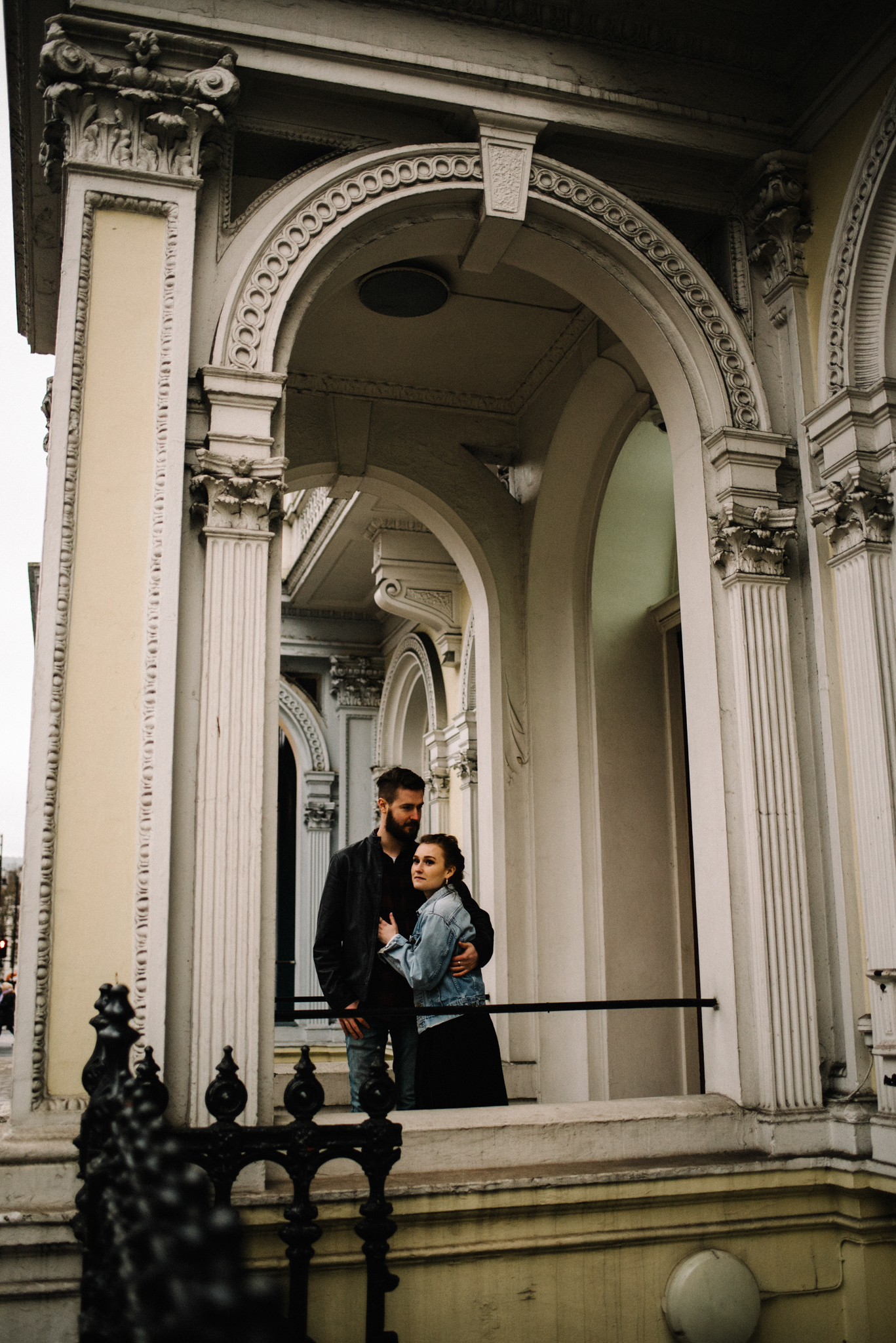 Grace and Jack London Natural History Museum Couple Portrait Session England_43.JPG