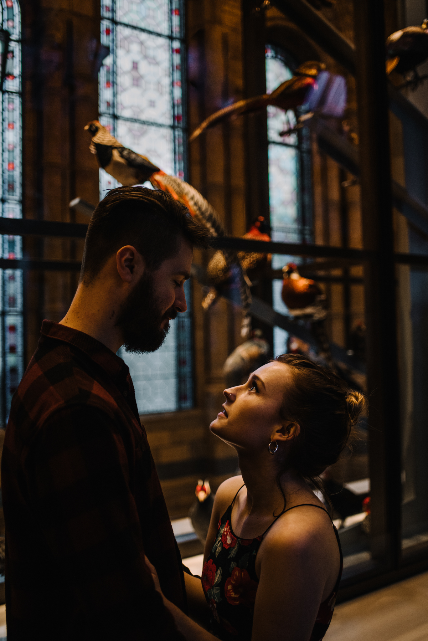 Grace and Jack London Natural History Museum Couple Portrait Session England_1.JPG