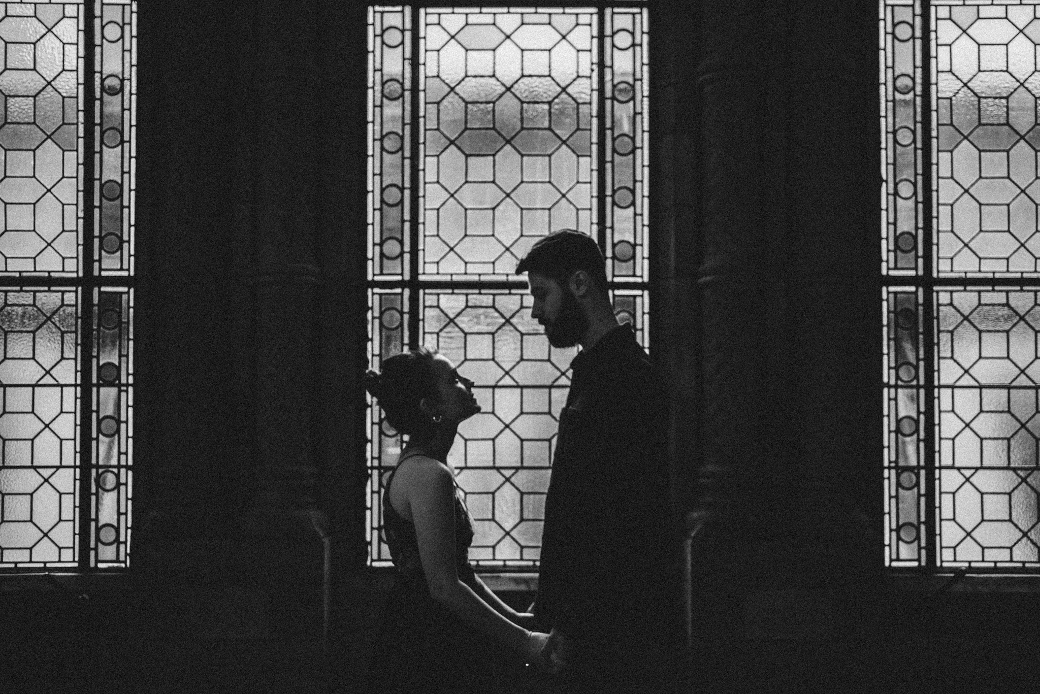 Grace and Jack London Natural History Museum Couple Portrait Session England_3.JPG