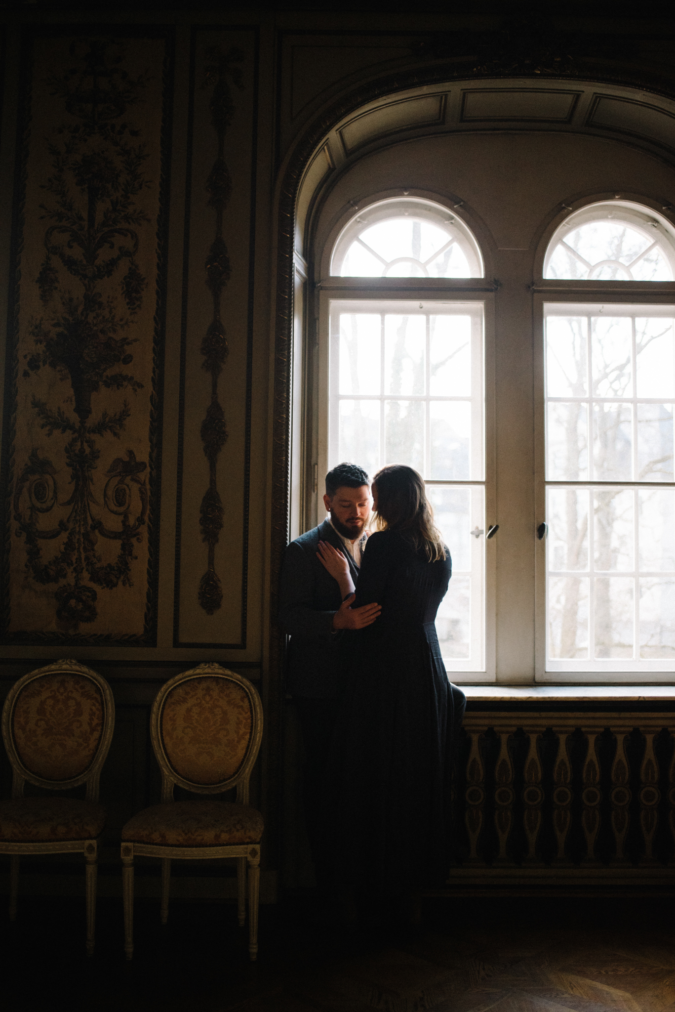 Ronja and Victor Intimate Castle Couple Portrait Session Germany Muse and Mirror_4.JPG