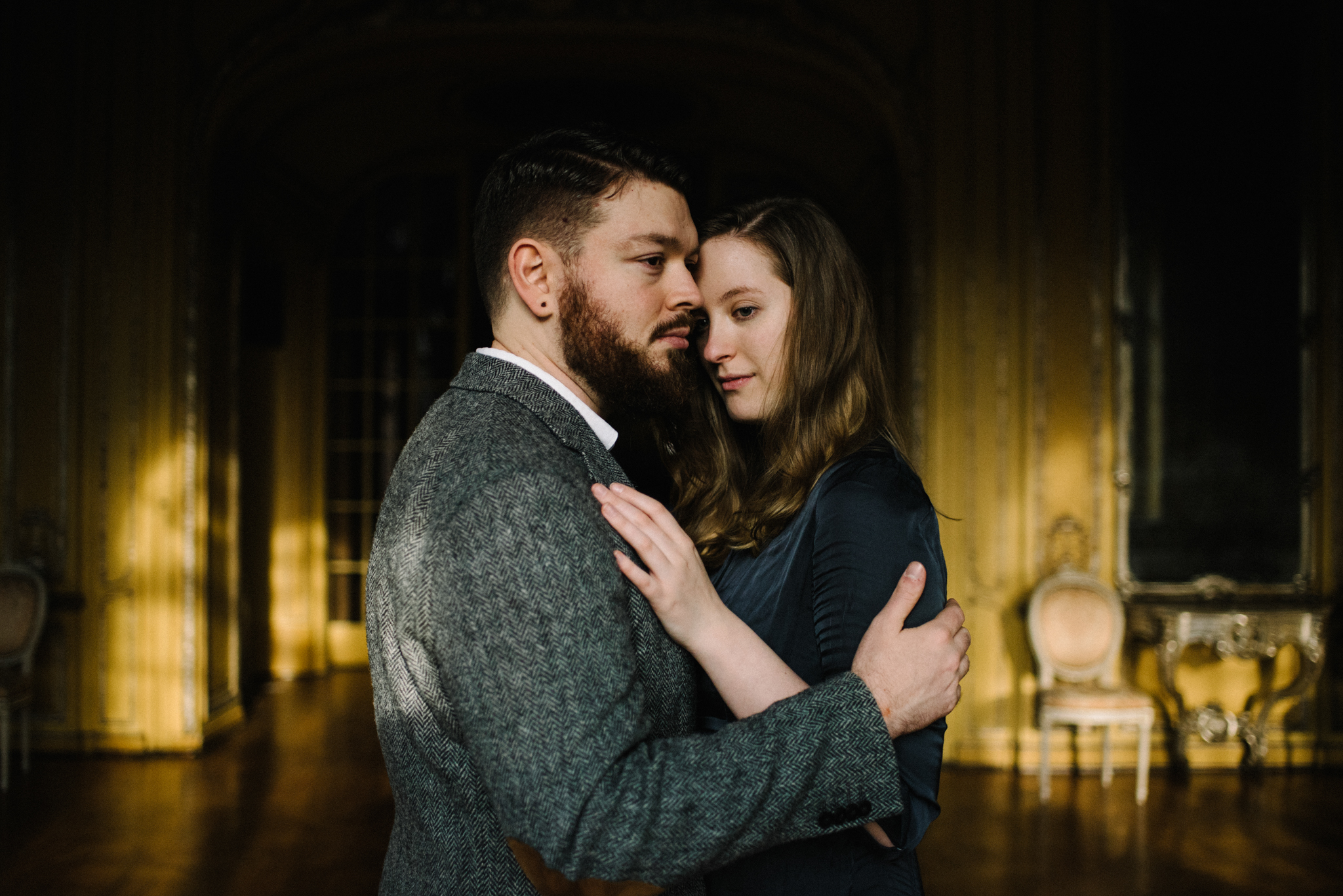 Ronja and Victor Intimate Castle Couple Portrait Session Germany Muse and Mirror_17.JPG