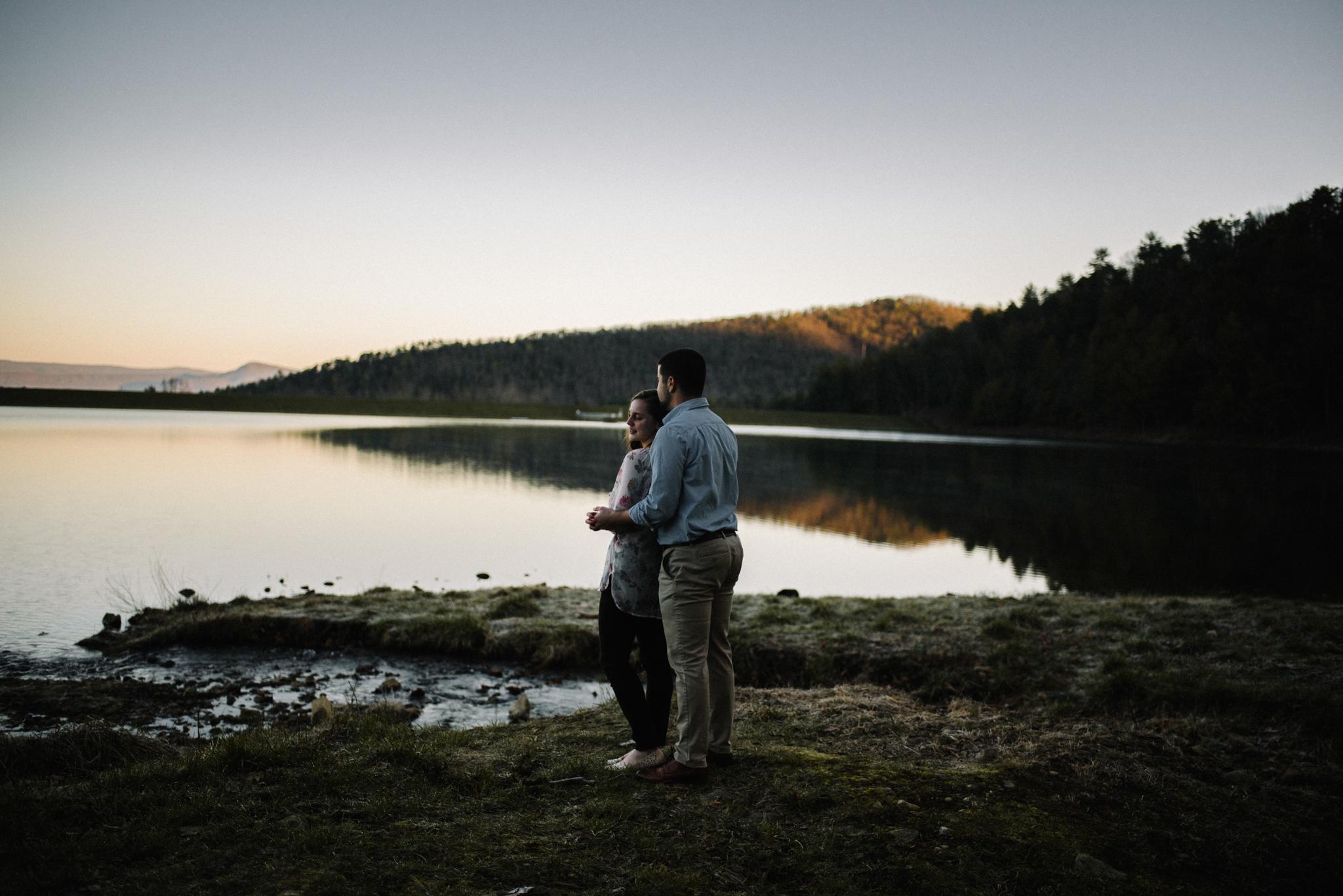 Sunrise Lake Engagement Photos - Early Morning - Couple Photo Shoot - White Sails Adventure Photography_14.JPG