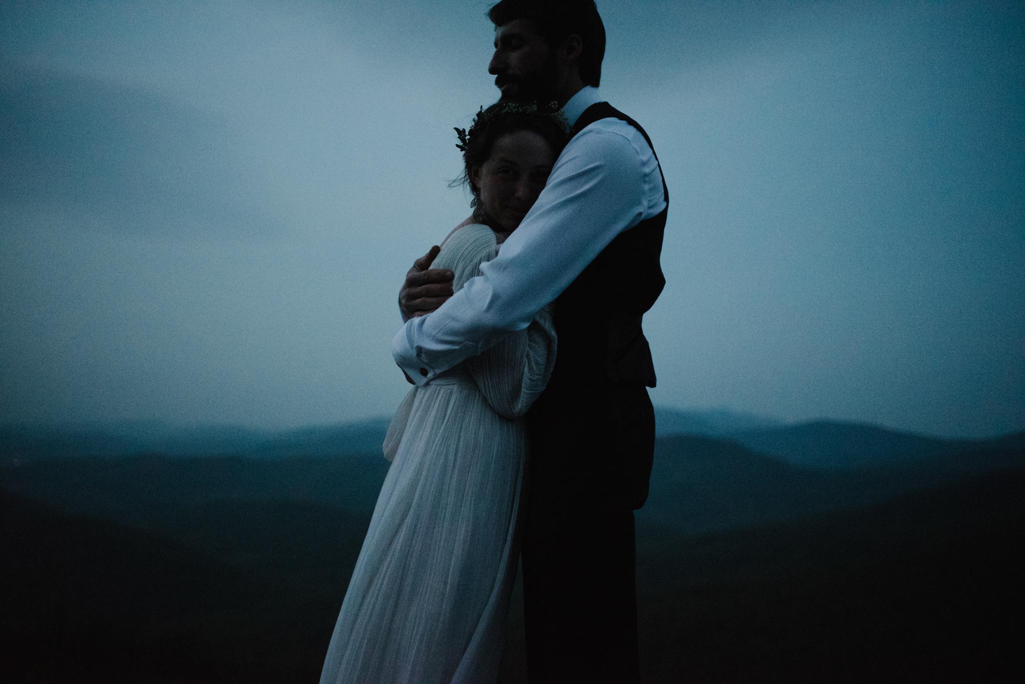 Lisa and Stuart - Post Wedding Couple Portraits - White Sails Creative - Blue Ridge Mountains - Sunrise Shenandoah National Park_6.JPG