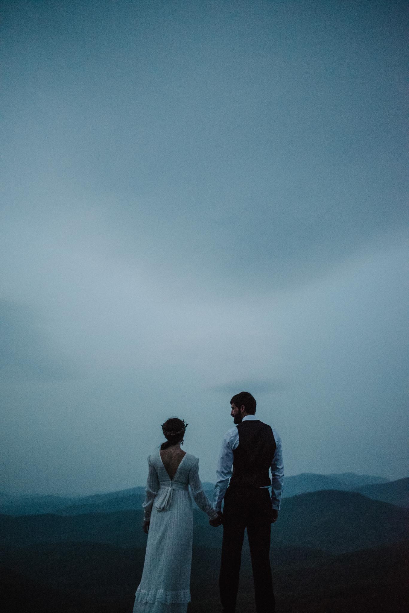 Lisa and Stuart - Post Wedding Couple Portraits - White Sails Creative - Blue Ridge Mountains - Sunrise Shenandoah National Park_8.JPG