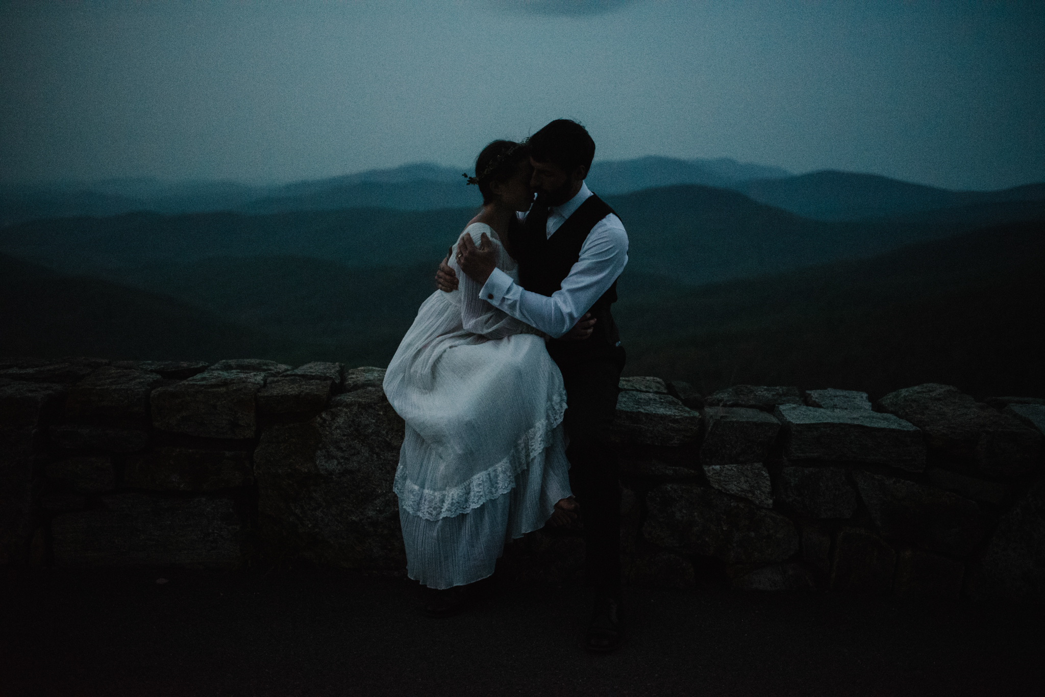 Lisa and Stuart - Post Wedding Couple Portraits - White Sails Creative - Blue Ridge Mountains - Sunrise Shenandoah National Park_13.JPG