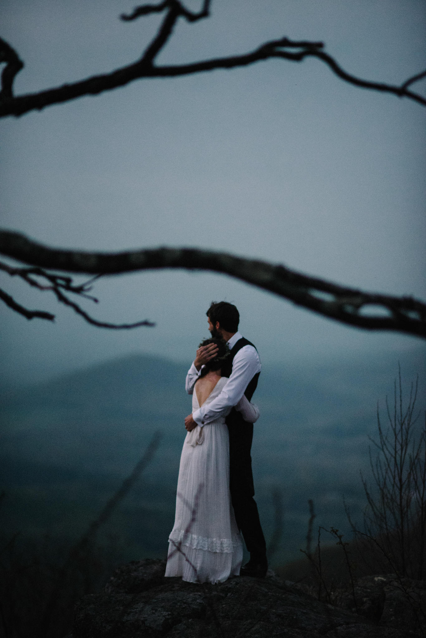 Lisa and Stuart - Post Wedding Couple Portraits - White Sails Creative - Blue Ridge Mountains - Sunrise Shenandoah National Park_56.JPG