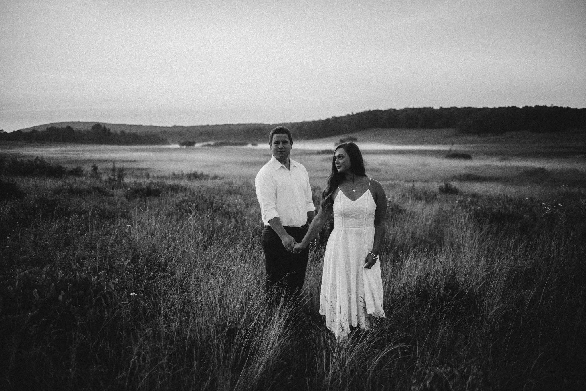 Erin and Matt - Shenandoah National Park Adventurous Sunrise Engagement Couple Photos - White Sails Creative_7.JPG