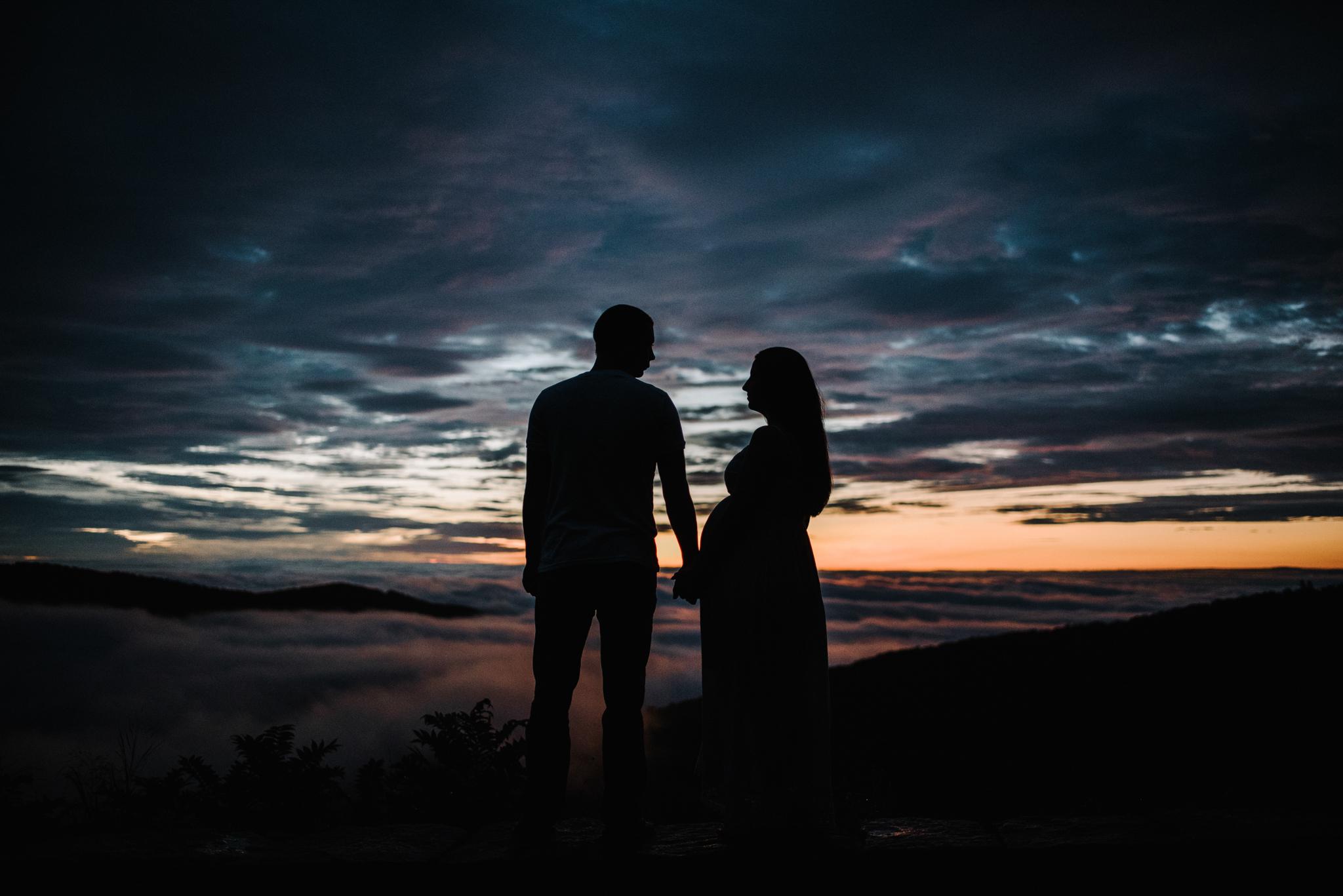 Mandy Spencer Maternity Sunrise Session Shenandoah National Park - White Sails Photography Creative_1.JPG