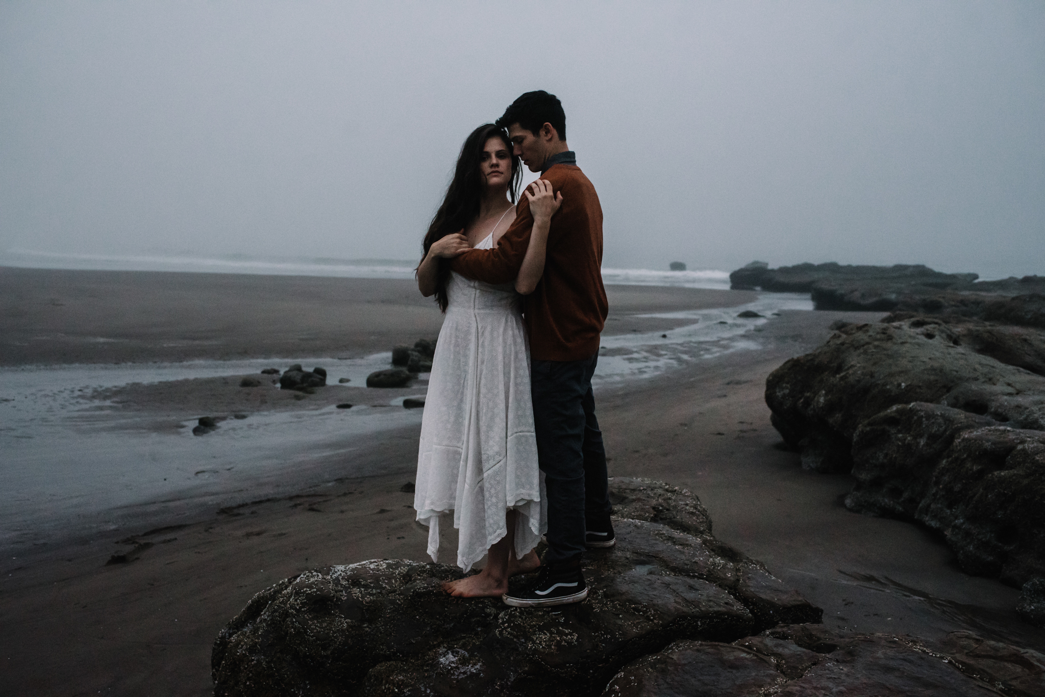 Ruthie and Anthony - Foggy Oregon Coast Couple Adventure Session - White Sails Photography Creative_52.JPG