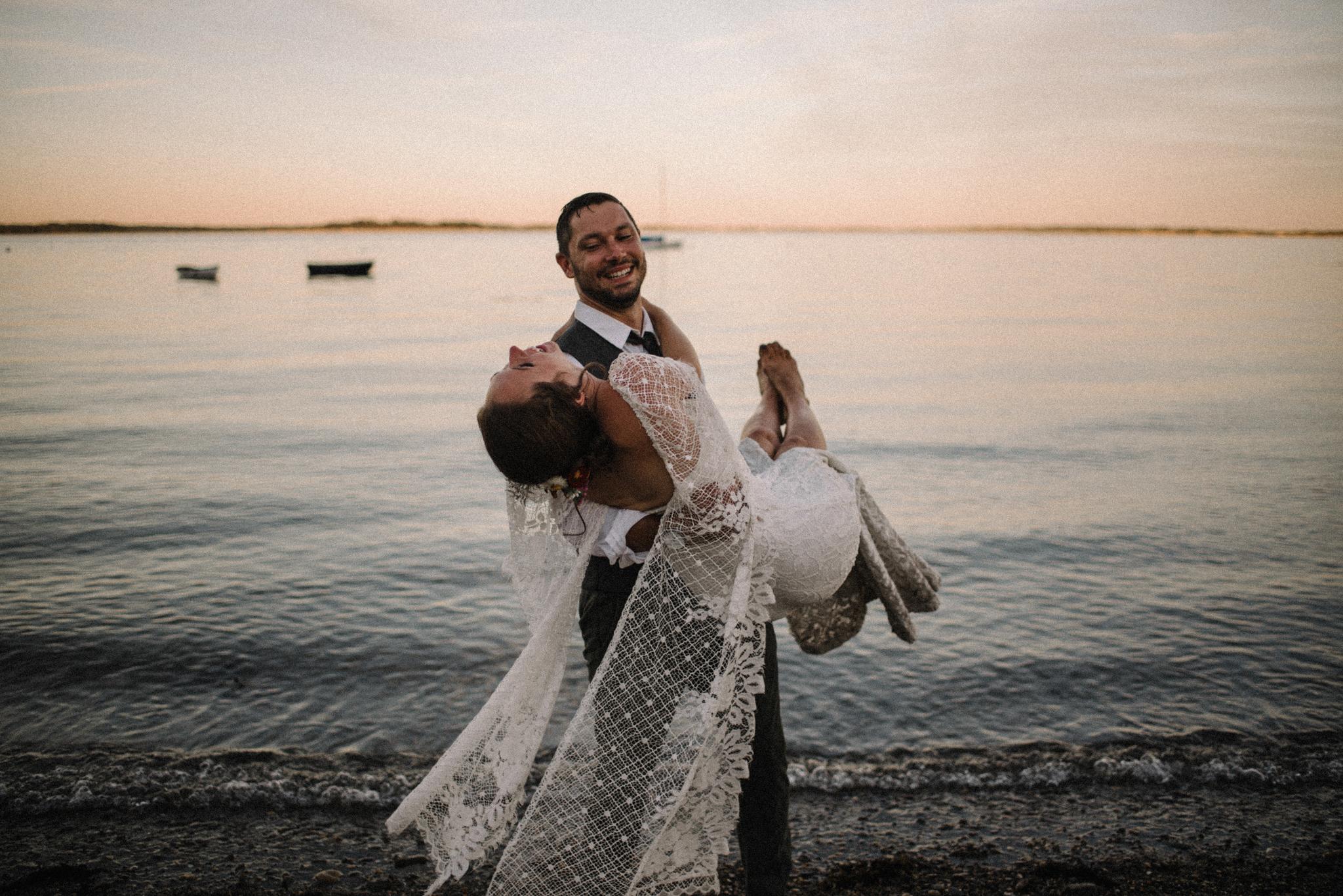 Damian and Jesse Chebeague Island Maine Backyard Destination Beach Wedding White Sails Creative_25.JPG