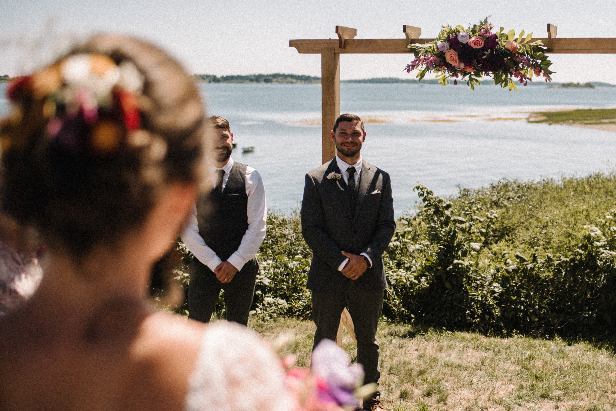Damian and Jesse Chebeague Island Maine Backyard Destination Beach Wedding White Sails Creative_103.JPG