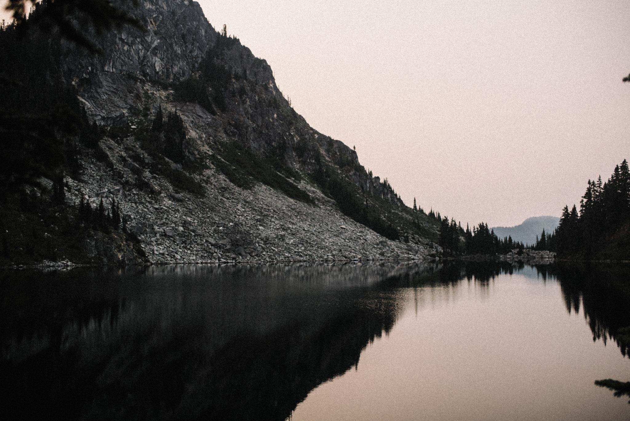 Megan and Andrew Lake Valhalla Washington PNW Adventure Elopement White Sails Creative Sunrise Hike_44.JPG
