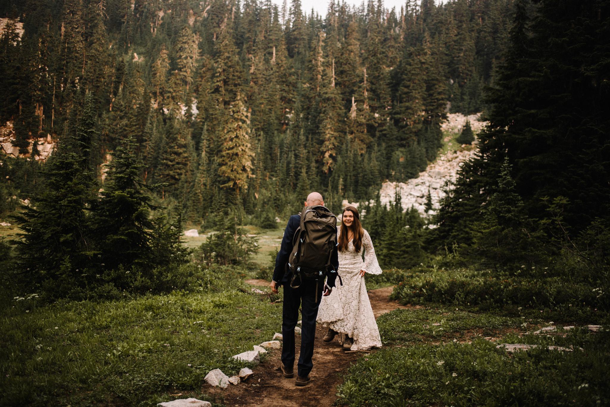 Megan and Andrew Lake Valhalla Washington PNW Adventure Elopement White Sails Creative Sunrise Hike_67.JPG