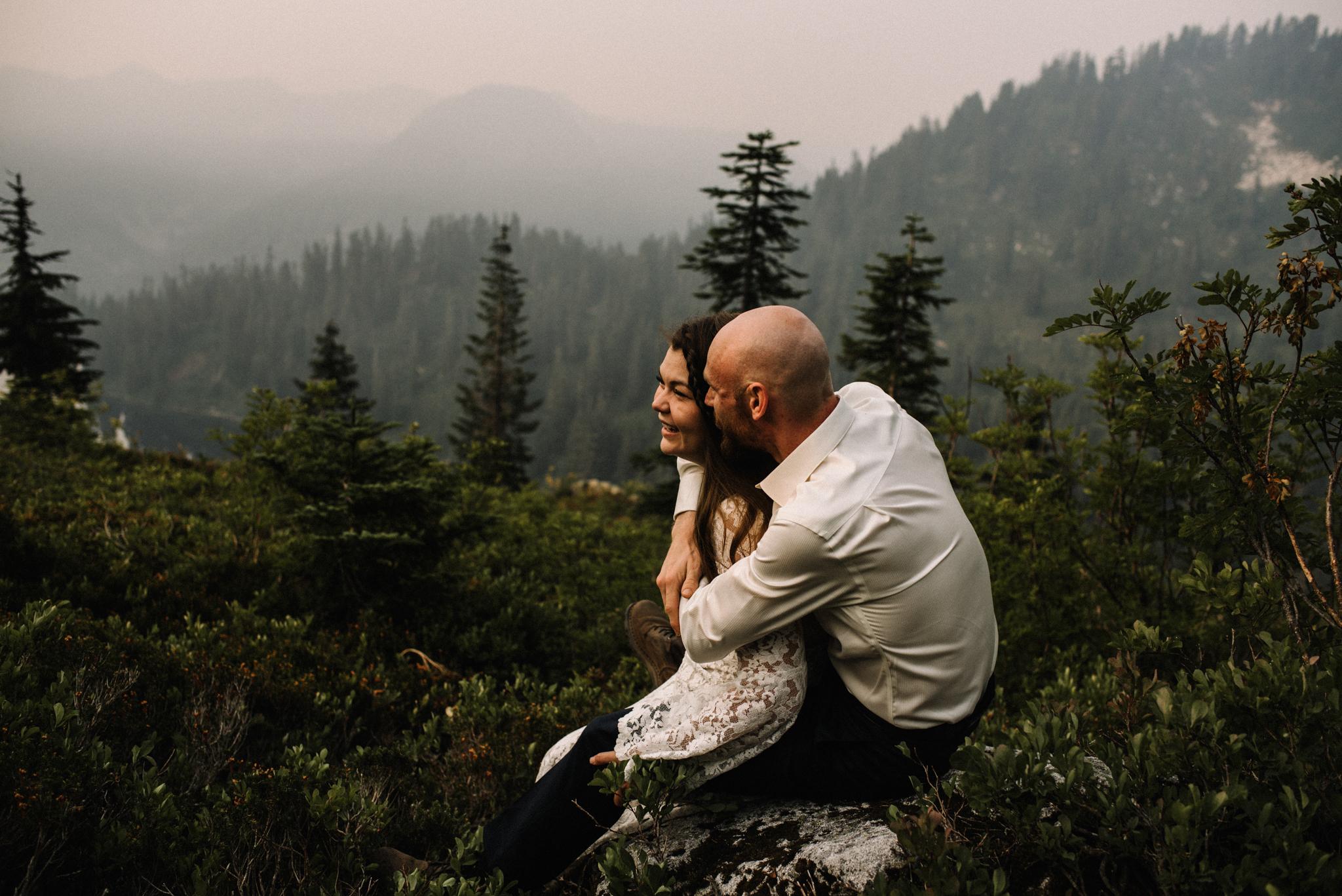 Megan and Andrew Lake Valhalla Washington PNW Adventure Elopement White Sails Creative Sunrise Hike_79.JPG