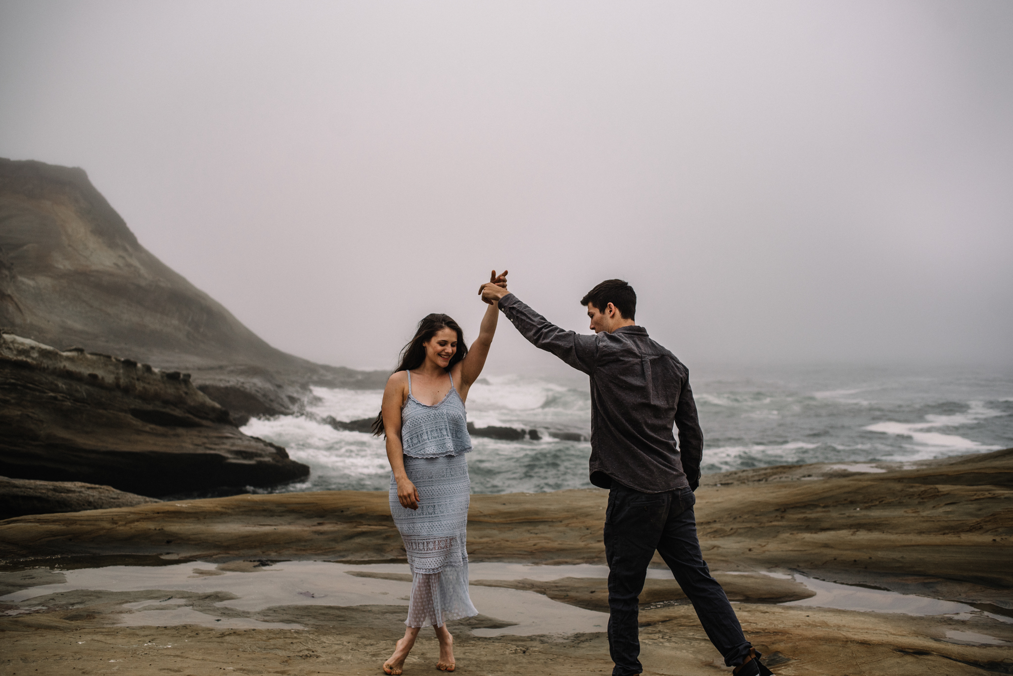 Ruthie and Anthony - Foggy Oregon Coast Couple Adventure Session - White Sails Photography Creative_23.JPG