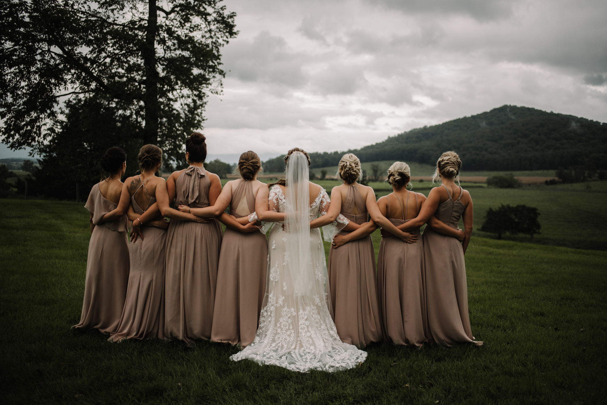 Jordan and Danielle - Shenandoah Woods Luray Virginia Wedding - Foggy Mountain and Forest Wedding - White Sails Creative Photography_71.JPG