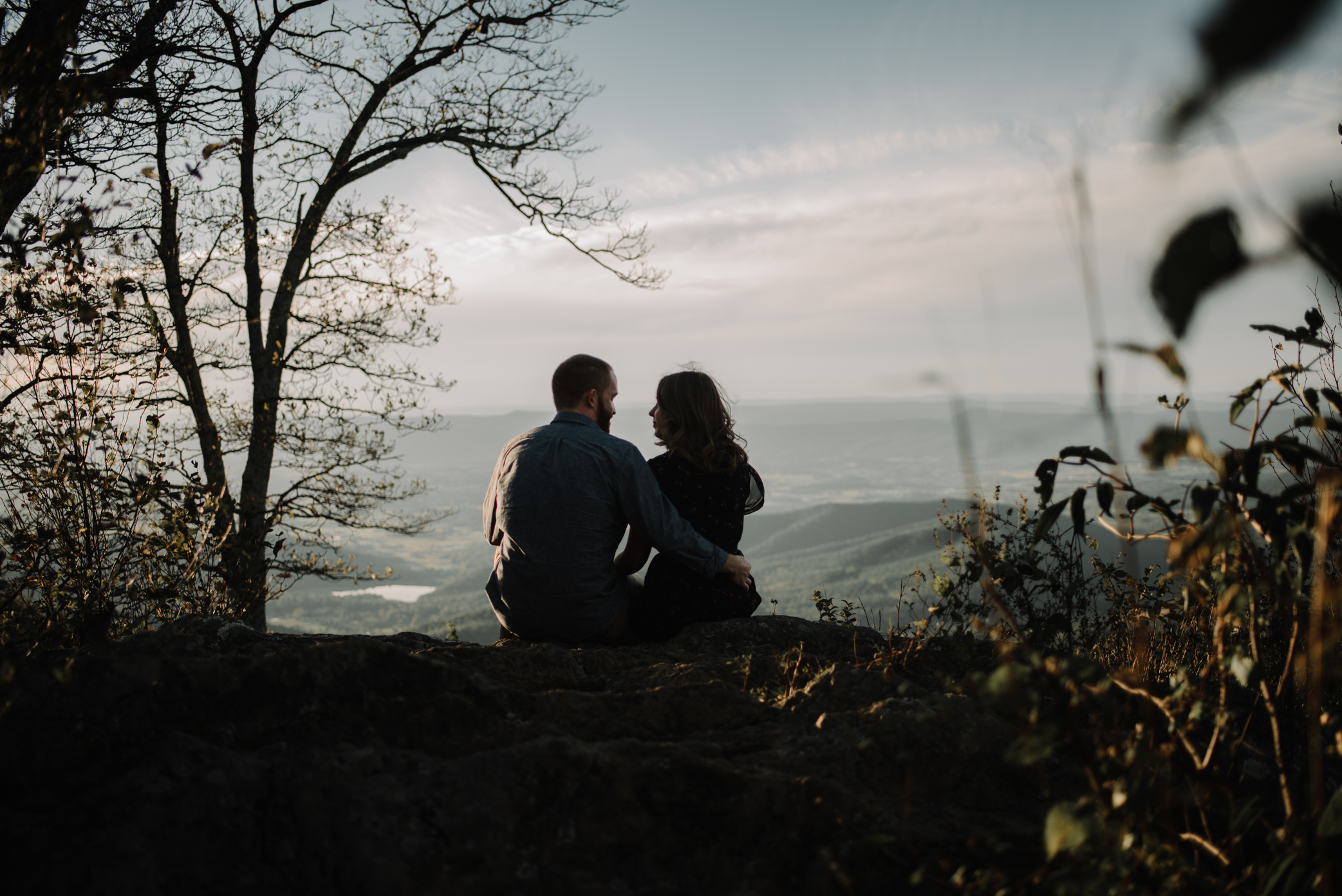 Molly and Zach Engagement Session - Fall Autumn Sunset Couple Adventure Session - Shenandoah National Park - Blue Ridge Parkway Skyline Drive - White Sails Creative_17.JPG