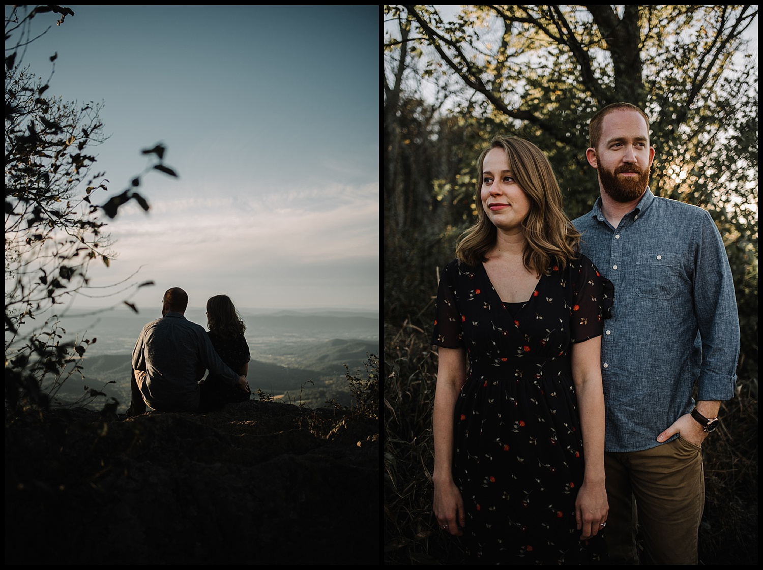 Molly and Zach Engagement Session - Fall Autumn Sunset Couple Adventure Session - Shenandoah National Park - Blue Ridge Parkway Skyline Drive - White Sails Creative_18.jpg
