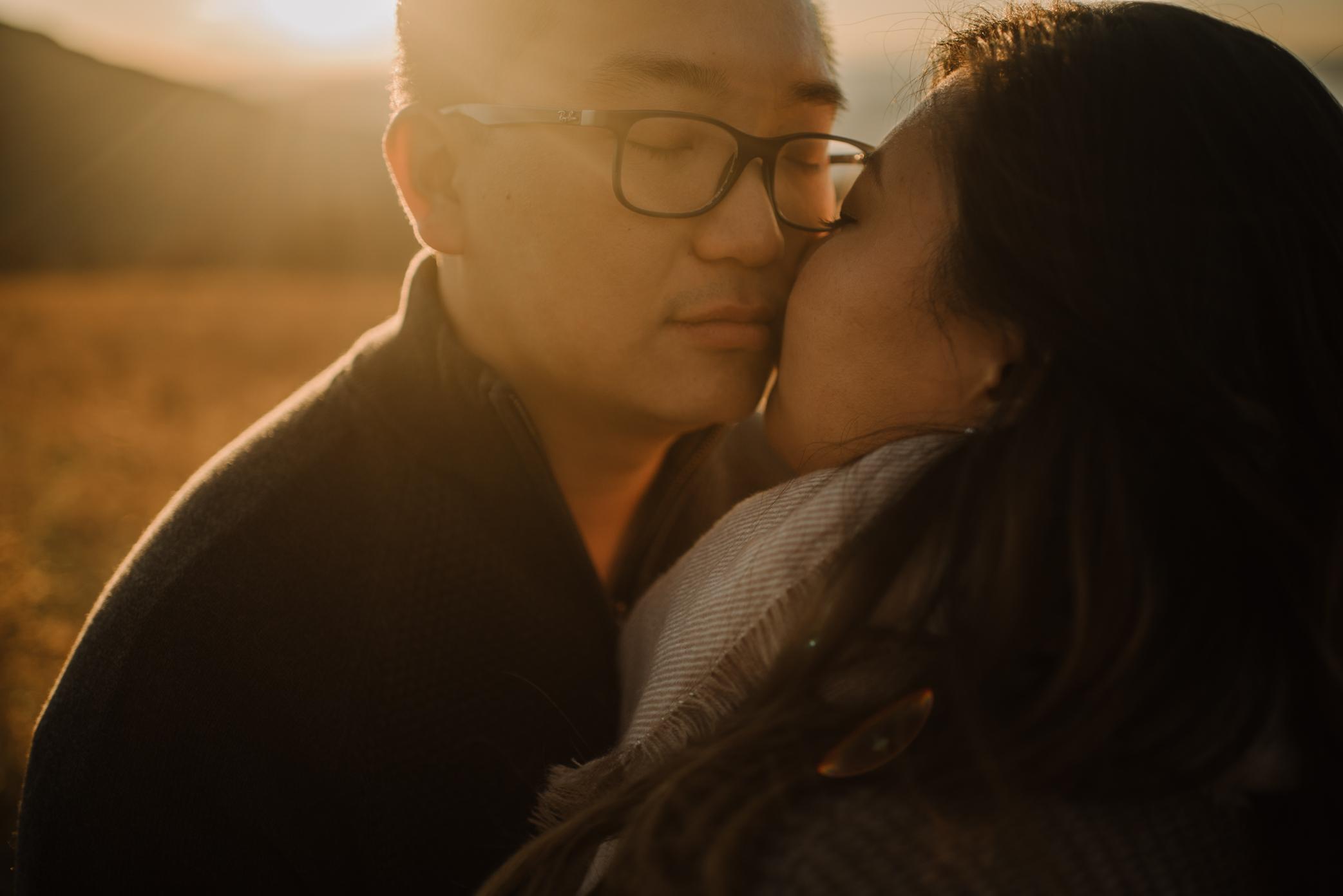 Joshua and Kristina - Shenandoah National Park - Skyline Drive - Winter Engagement Session Photographer - White Sails Creative_31.JPG