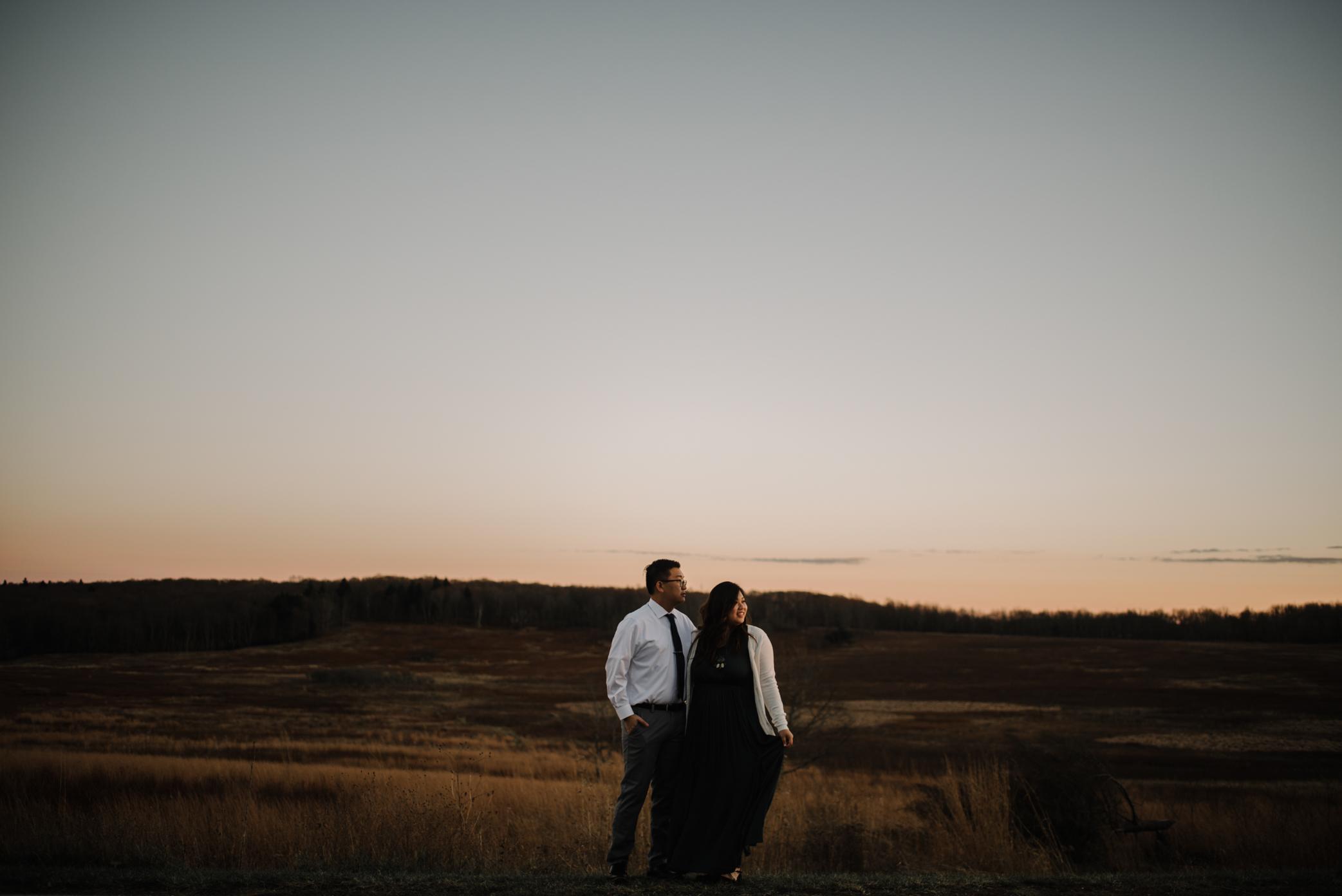 Joshua and Kristina - Shenandoah National Park - Skyline Drive - Winter Engagement Session Photographer - White Sails Creative_38.JPG