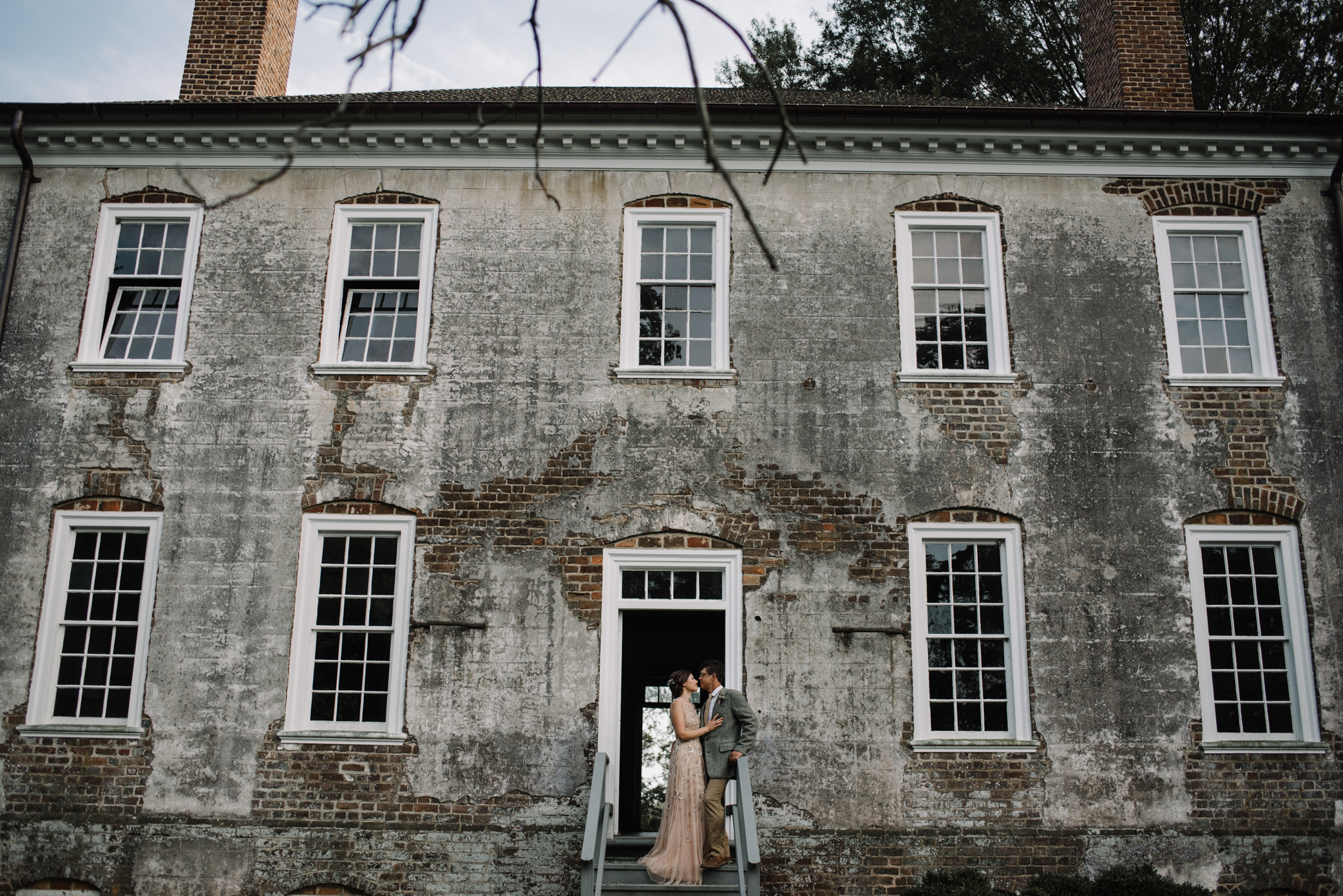 Salubria Historic Manor House Virginia - Moody Scottish Highland Wedding Styled Shoot - White Sails Creative - Sage and Silhouettes - BHLDN - Bijous Sweet Treats_149.JPG