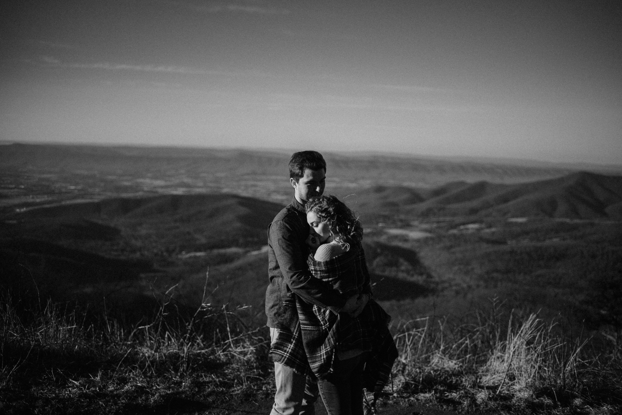 Alli and Mitchell - Shenandoah National Park Adventure Winter Engagement Session on Skyline Drive - White Sails Creative Elopement Photography_5.JPG