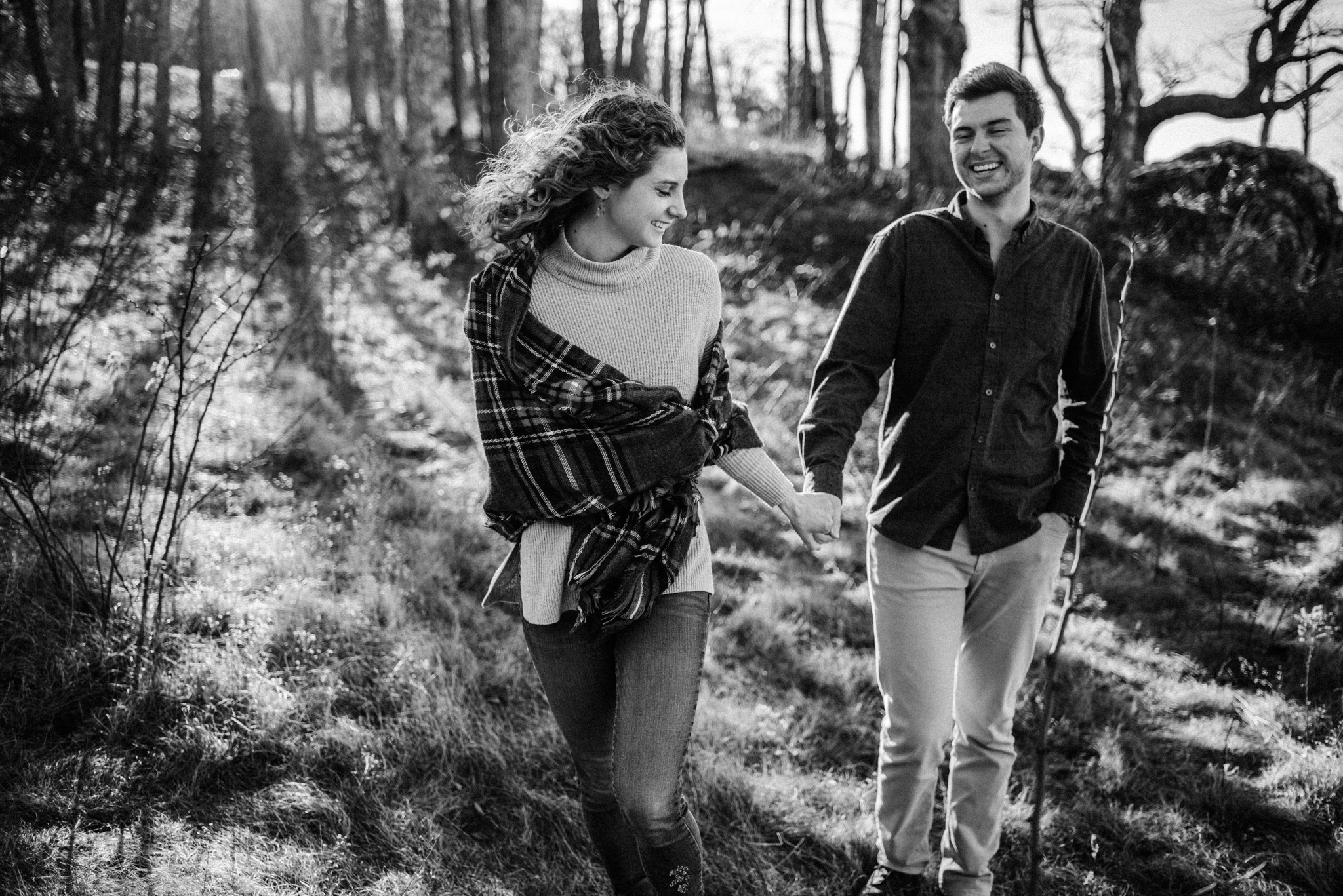 Alli and Mitchell - Shenandoah National Park Adventure Winter Engagement Session on Skyline Drive - White Sails Creative Elopement Photography_7.JPG