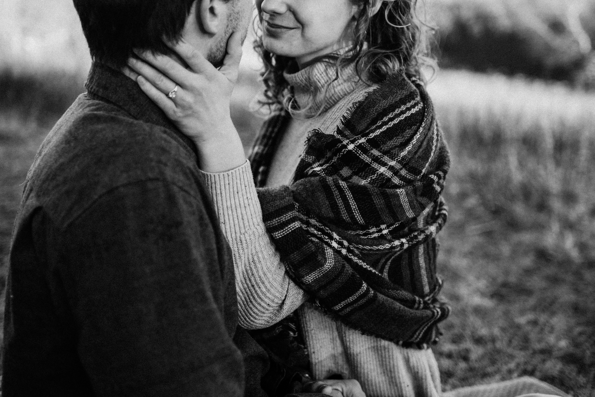 Alli and Mitchell - Shenandoah National Park Adventure Winter Engagement Session on Skyline Drive - White Sails Creative Elopement Photography_10.JPG