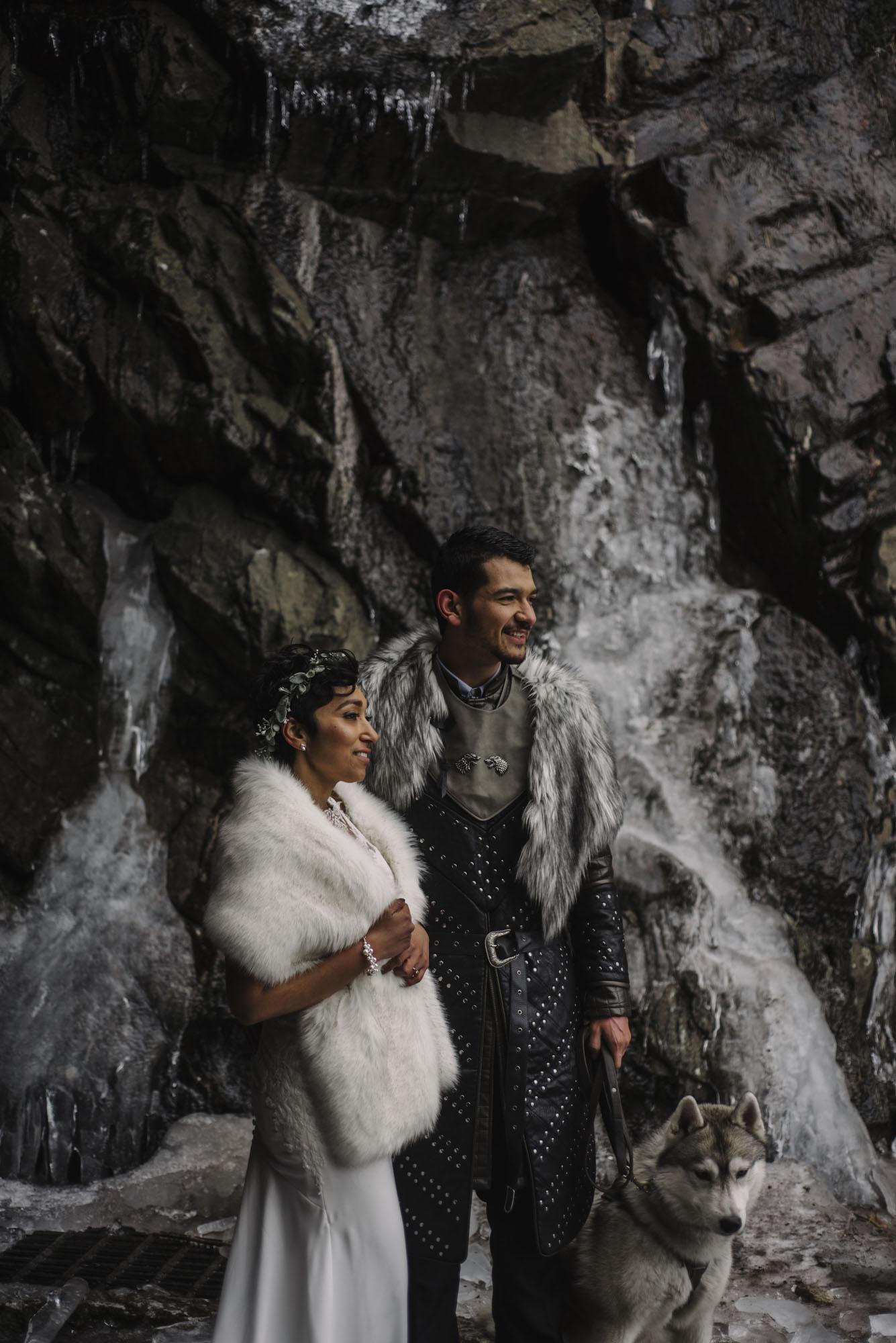 Game of Thrones Elopement - Winter Elopement - Shenandoah National Park Elopement Photographer - Virginia Adventure Photographer - Blue Ridge Parkway Elopement Photographer_1.jpg