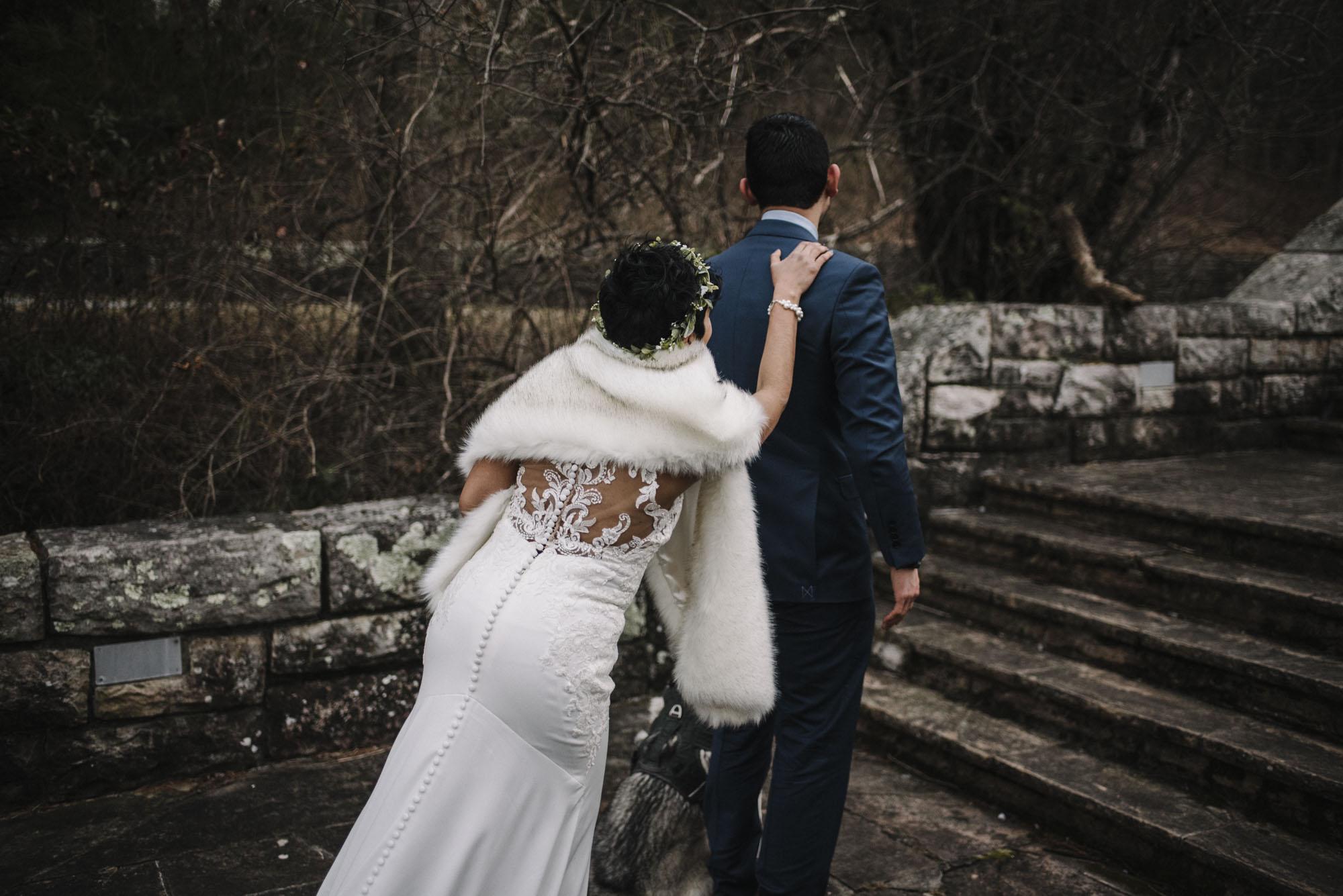 Game of Thrones Elopement - Winter Elopement - Shenandoah National Park Elopement Photographer - Virginia Adventure Photographer - Blue Ridge Parkway Elopement Photographer_5.jpg