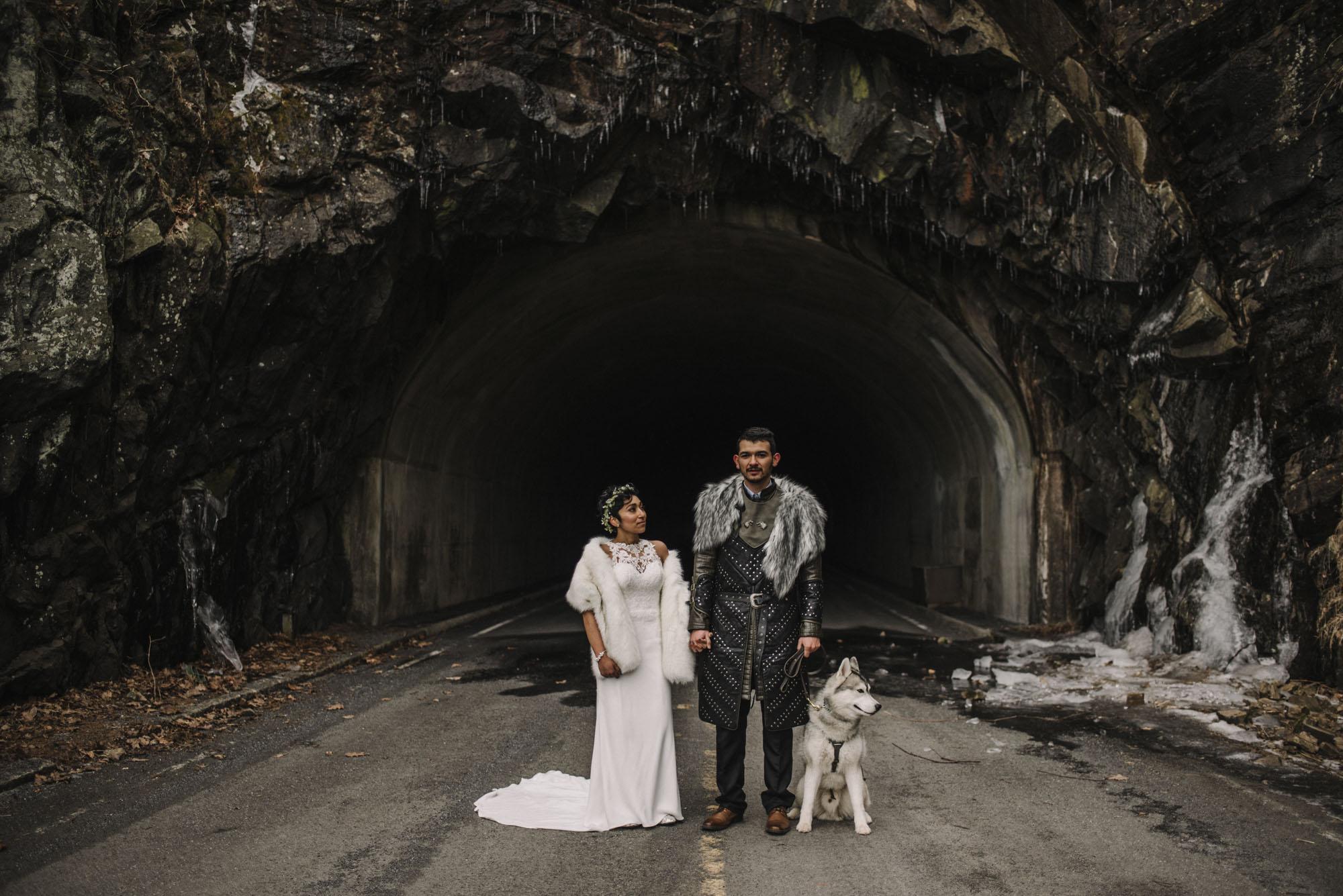 Game of Thrones Elopement - Winter Elopement - Shenandoah National Park Elopement Photographer - Virginia Adventure Photographer - Blue Ridge Parkway Elopement Photographer_27.jpg