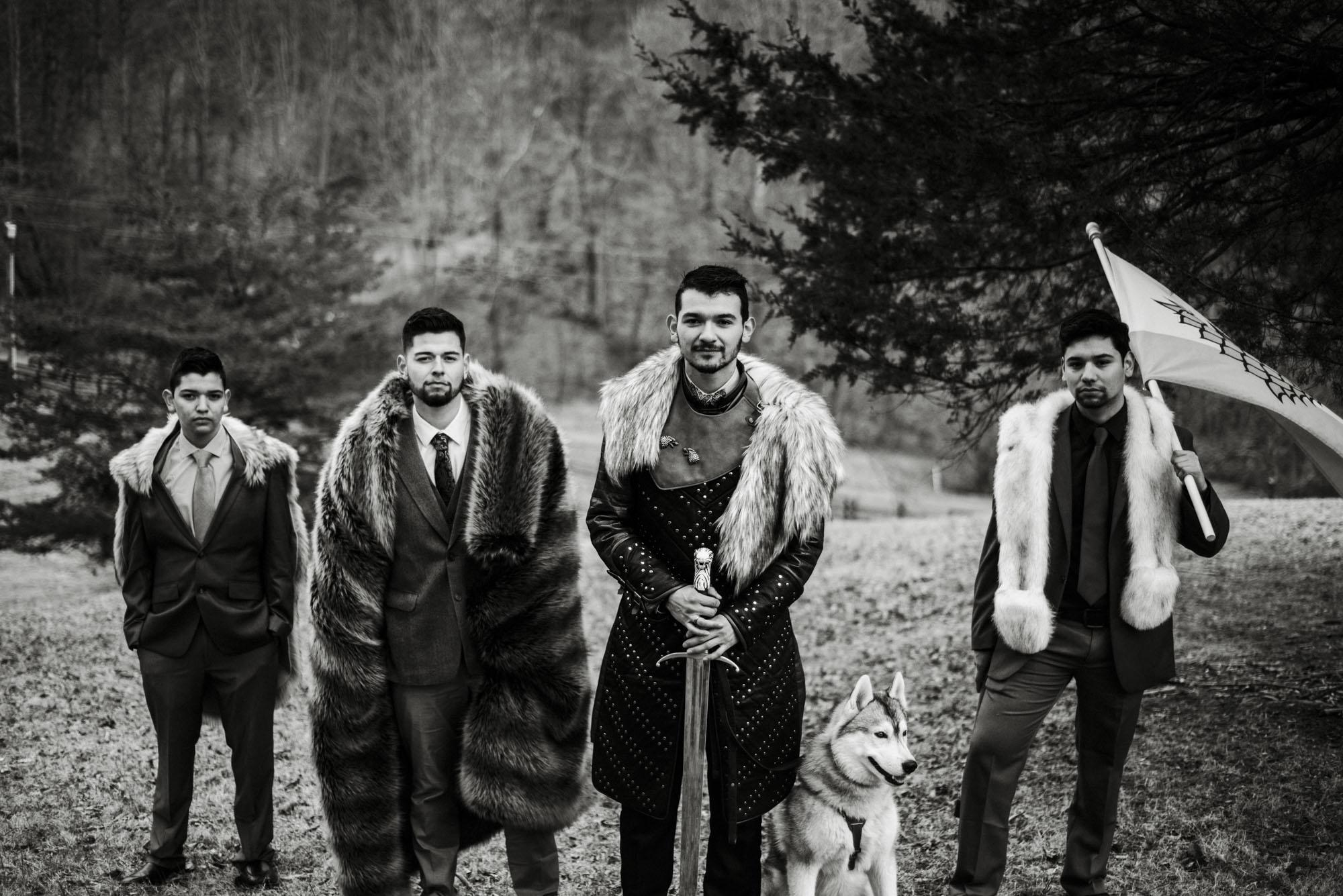 Game of Thrones Elopement - Winter Elopement - Shenandoah National Park Elopement Photographer - Virginia Adventure Photographer - Blue Ridge Parkway Elopement Photographer_45.jpg