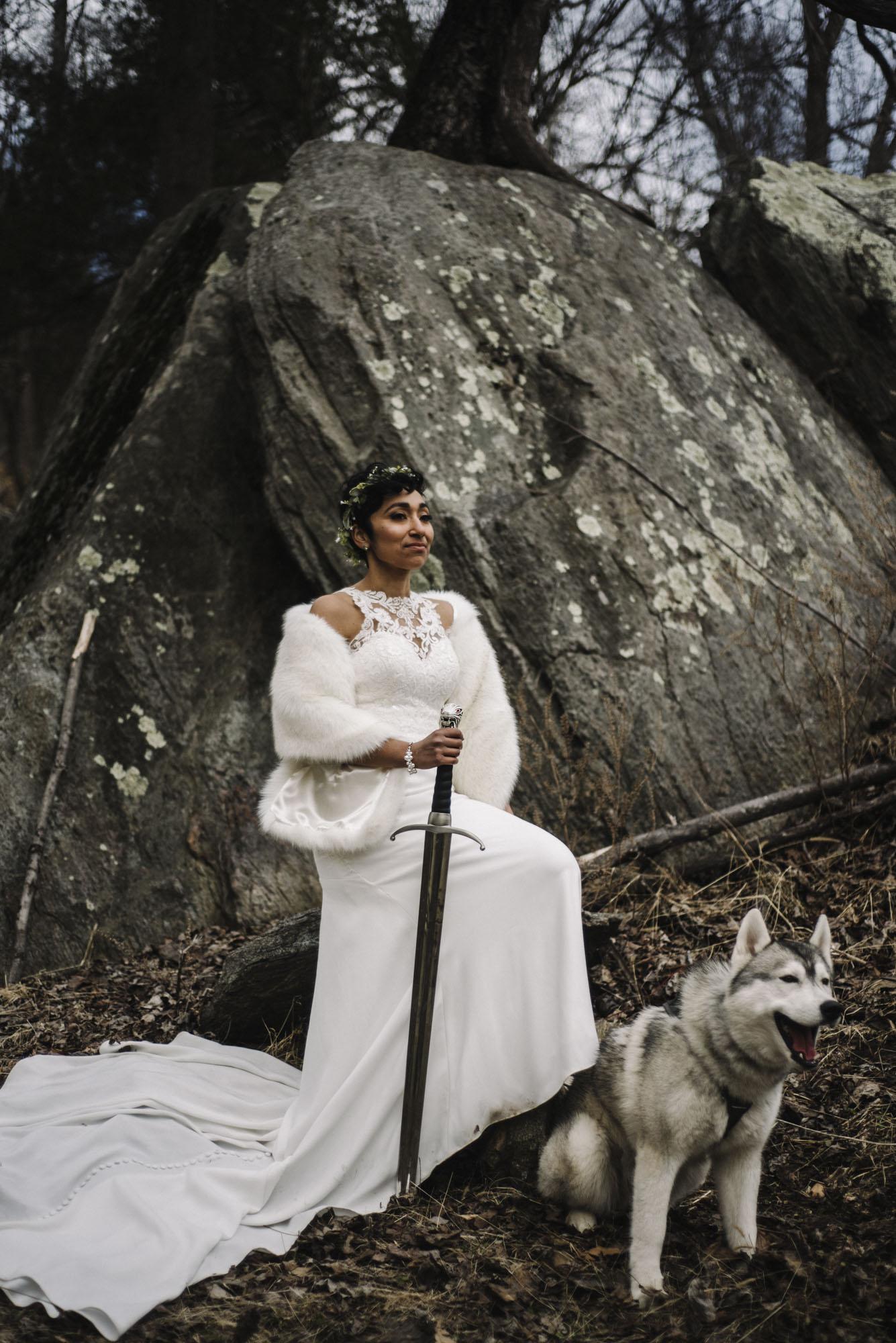 Game of Thrones Elopement - Winter Elopement - Shenandoah National Park Elopement Photographer - Virginia Adventure Photographer - Blue Ridge Parkway Elopement Photographer_48.jpg