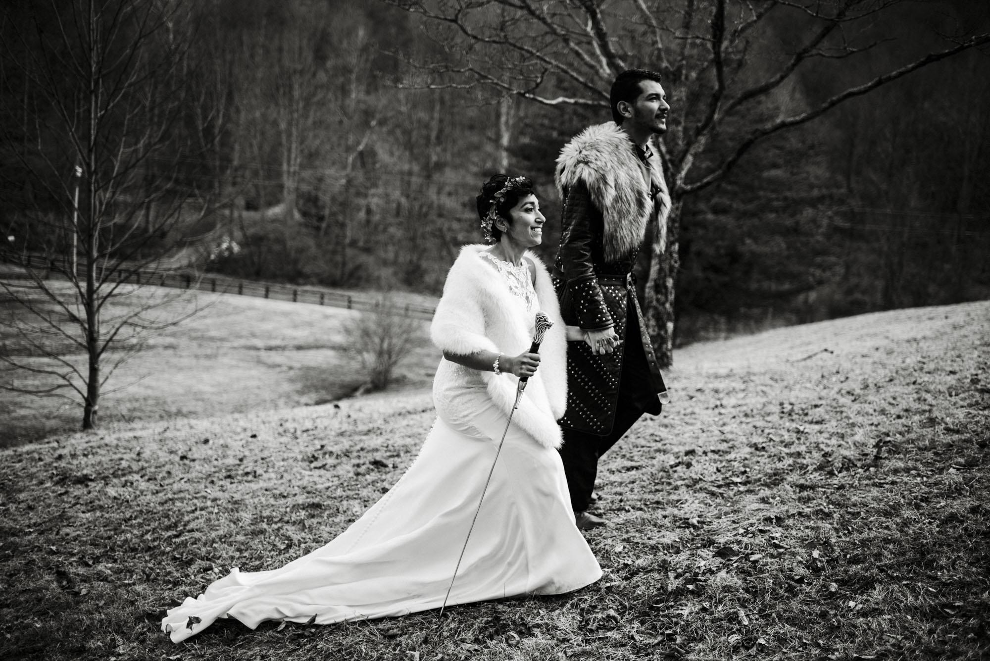 Game of Thrones Elopement - Winter Elopement - Shenandoah National Park Elopement Photographer - Virginia Adventure Photographer - Blue Ridge Parkway Elopement Photographer_52.jpg