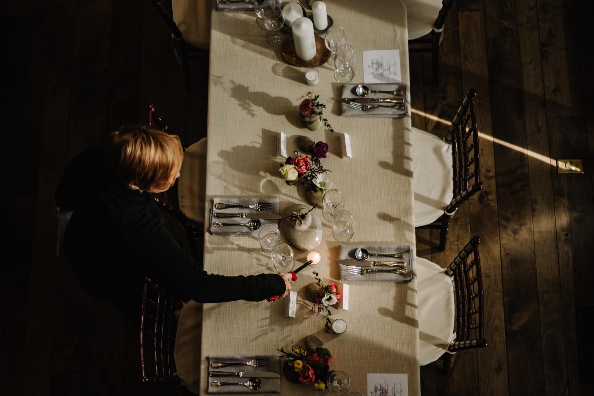 Intimate Dinner Wedding - Small Wedding with Candlelit Dinner - Sperryville Virginia Wedding - Backyard Wedding - Flourish Root Wedding Flowers - White Sails Creative Wedding - Cozy Wedding - Casual Wedding - Intimate Wedding_5.jpg