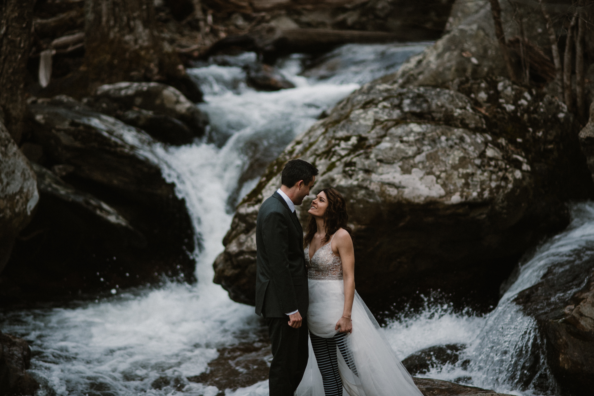 Stephanie and Steve - Shenandoah National Park Elopement - Sunrise Hiking Elopement - Adventurous Elopement - Virginia Elopement Photographer - Shenandoah national Park Wedding Photographer - White Sails Creative_8.jpg