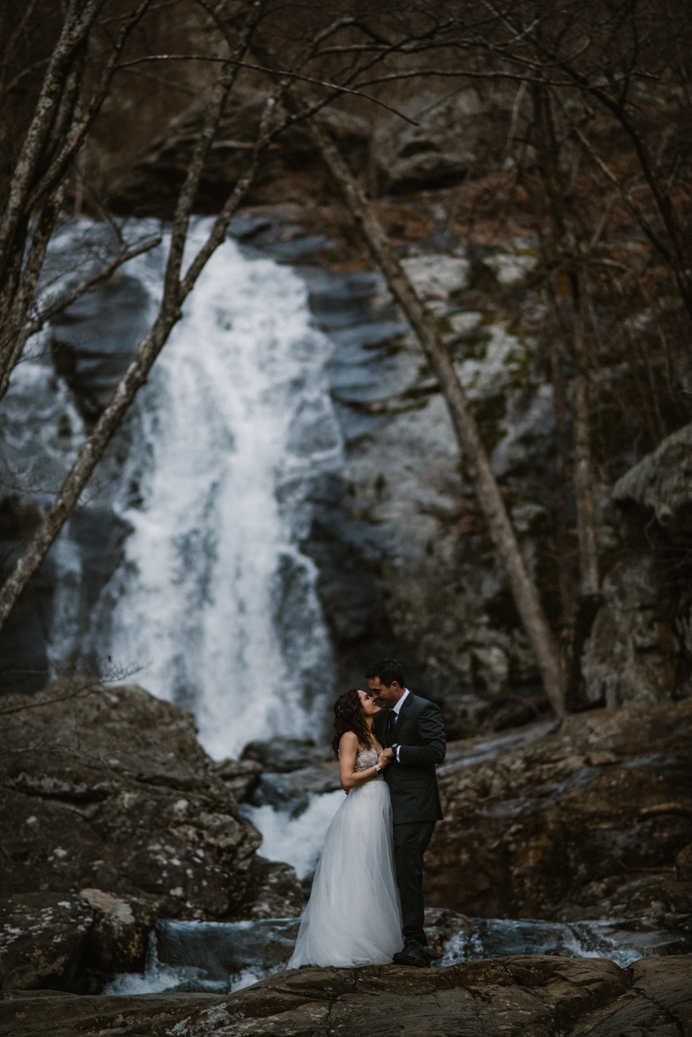 Stephanie and Steve - Shenandoah National Park Elopement - Sunrise Hiking Elopement - Adventurous Elopement - Virginia Elopement Photographer - Shenandoah national Park Wedding Photographer - White Sails Creative_12.jpg