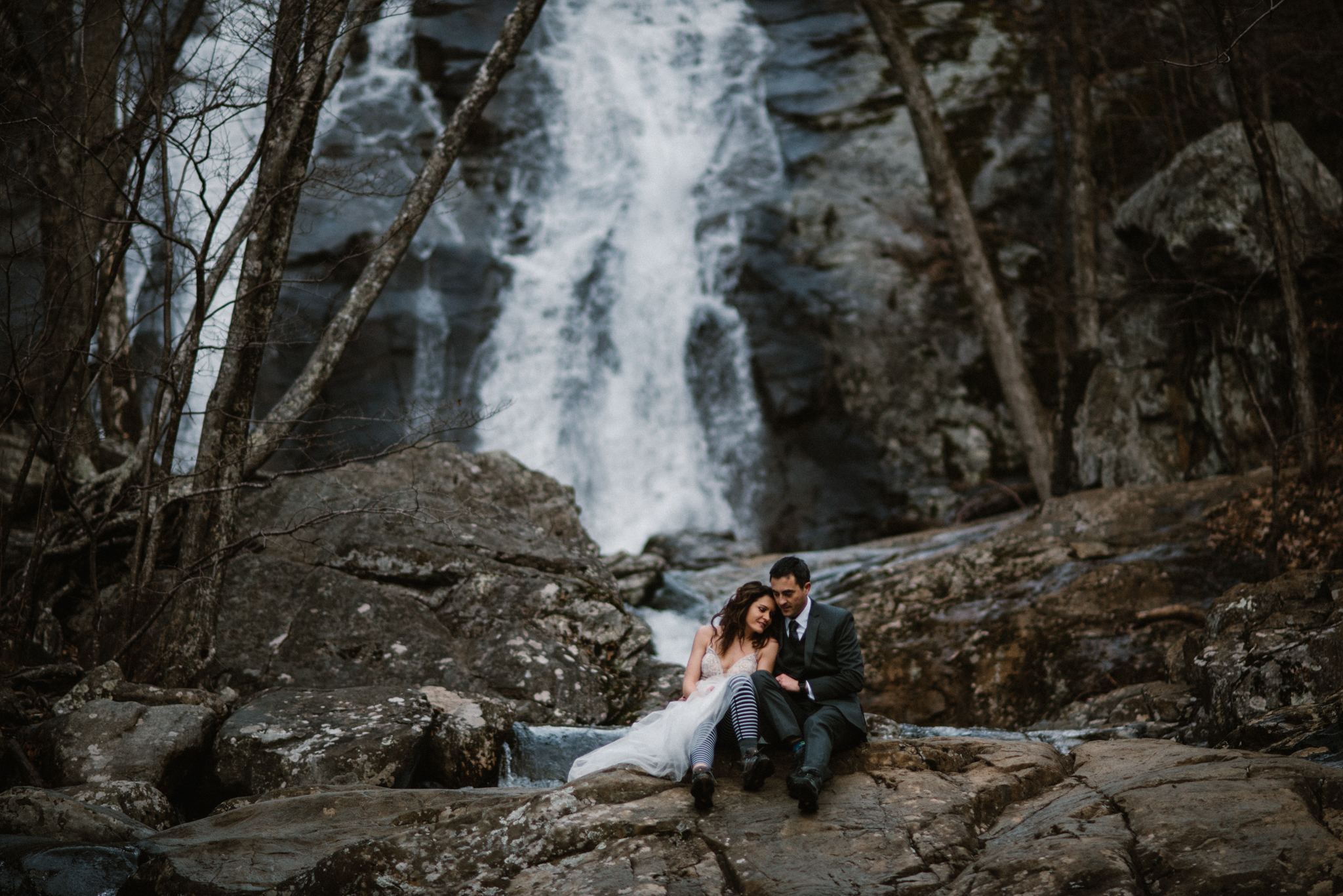 Stephanie and Steve - Shenandoah National Park Elopement - Sunrise Hiking Elopement - Adventurous Elopement - Virginia Elopement Photographer - Shenandoah national Park Wedding Photographer - White Sails Creative_13.jpg